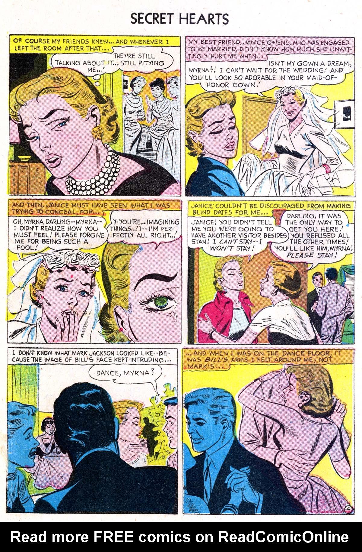 Read online Secret Hearts comic -  Issue #38 - 30