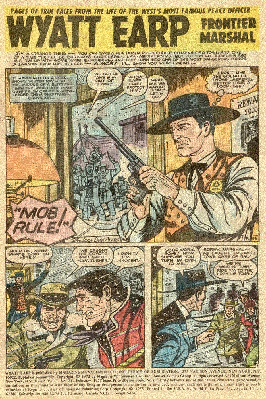 Wyatt Earp issue 32 - Page 2