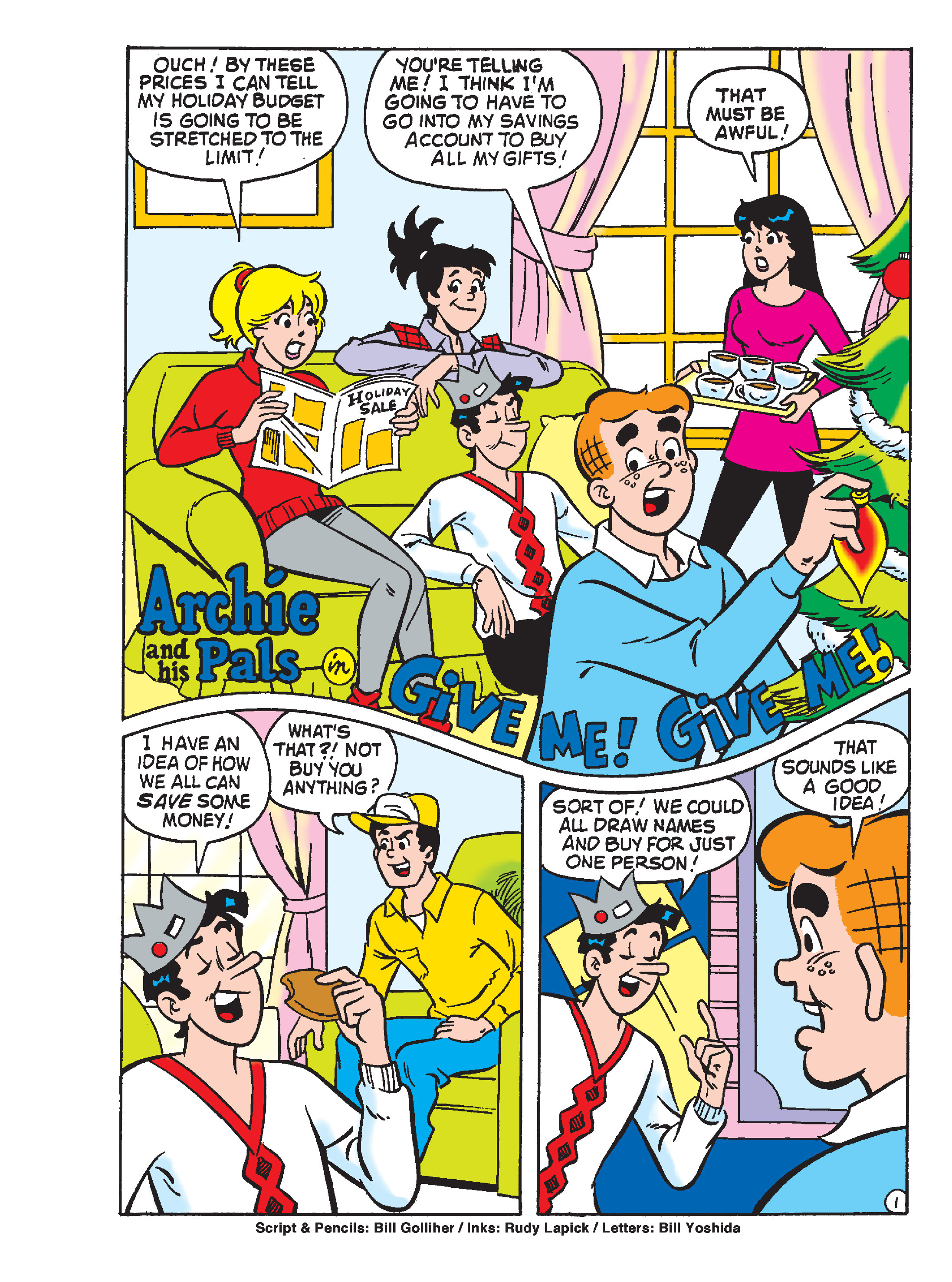 Read online Archie's Funhouse Double Digest comic -  Issue #23 - 24