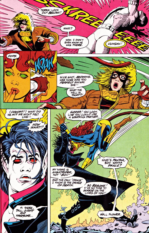 Read online Team Titans comic -  Issue #1e - 25