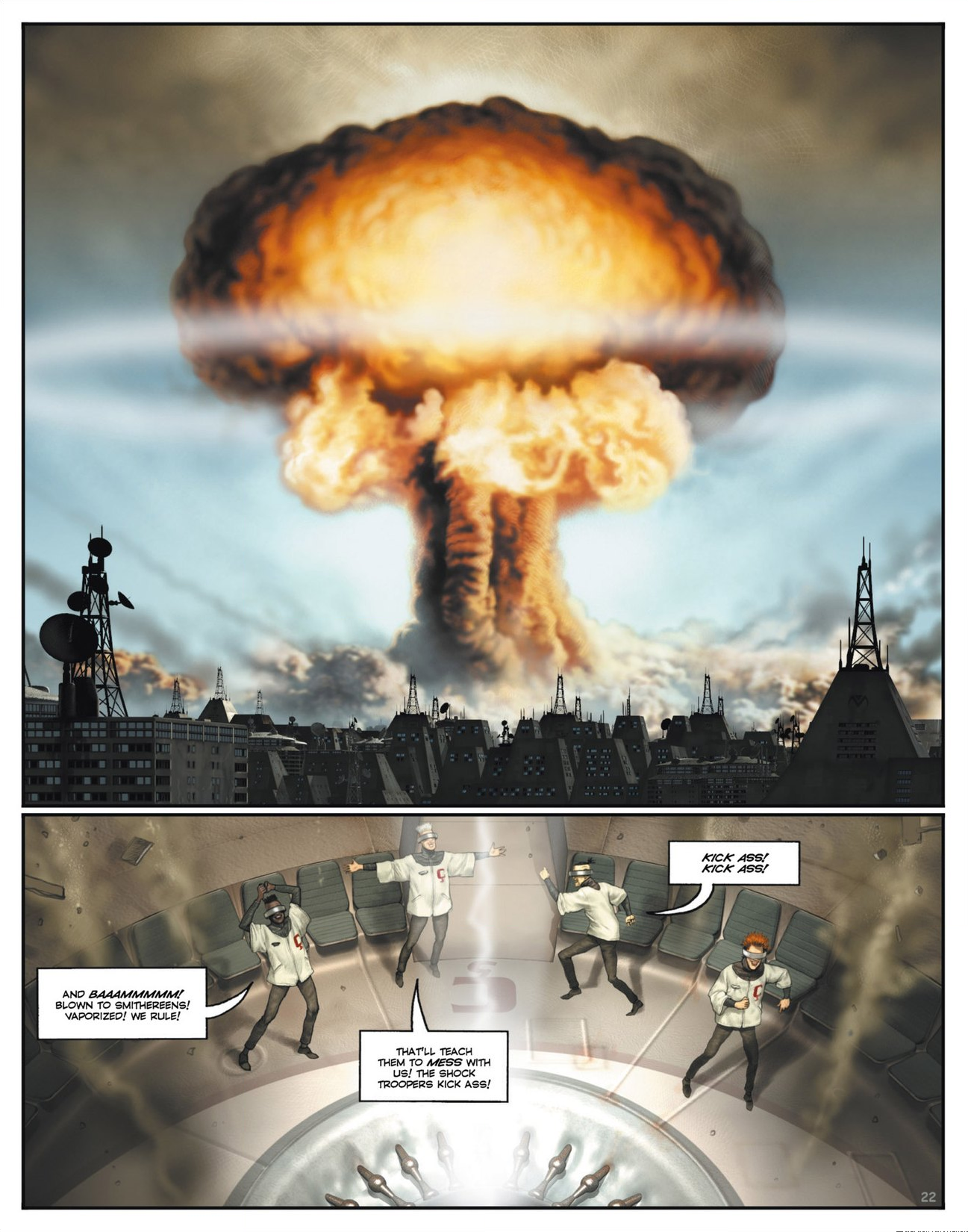 Read online Megalex (2014) comic -  Issue #1 - 27