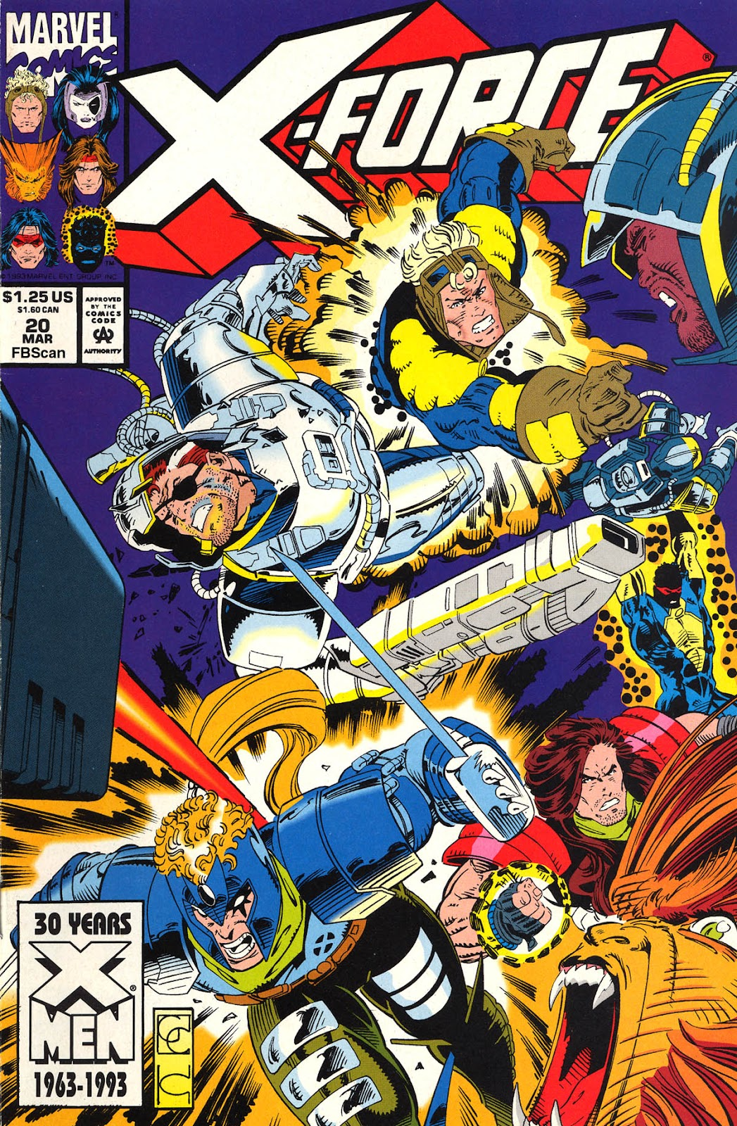 X-Force (1991) 20 Page 1