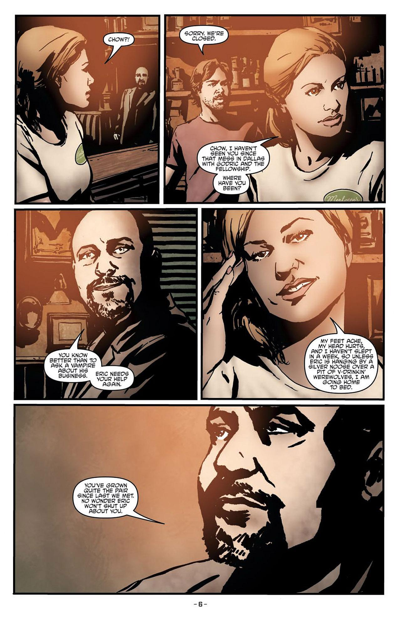 Read online True Blood (2012) comic -  Issue #1 - 10