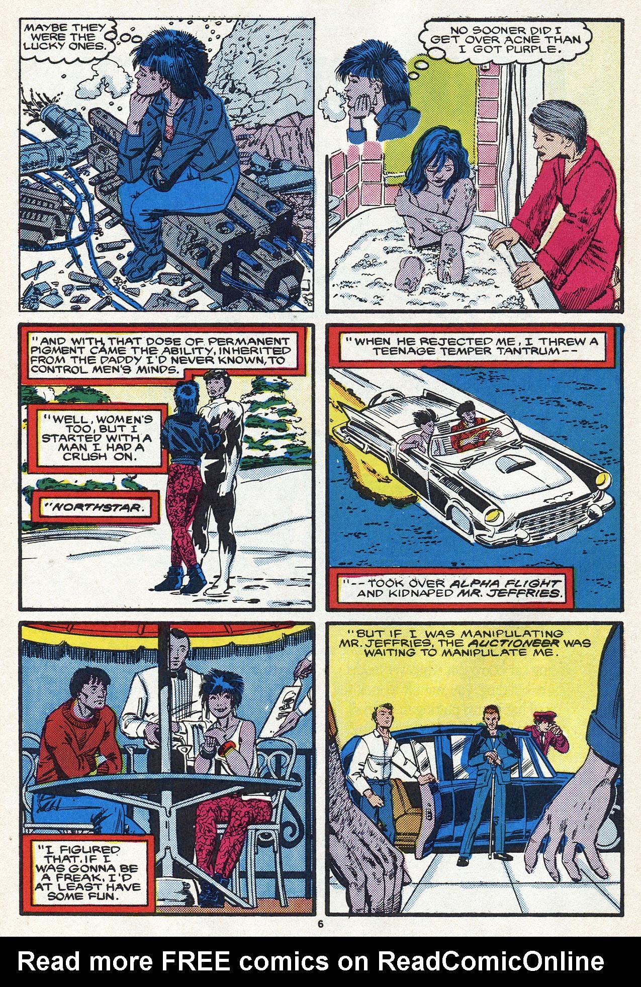 Read online Alpha Flight (1983) comic -  Issue #54 - 10