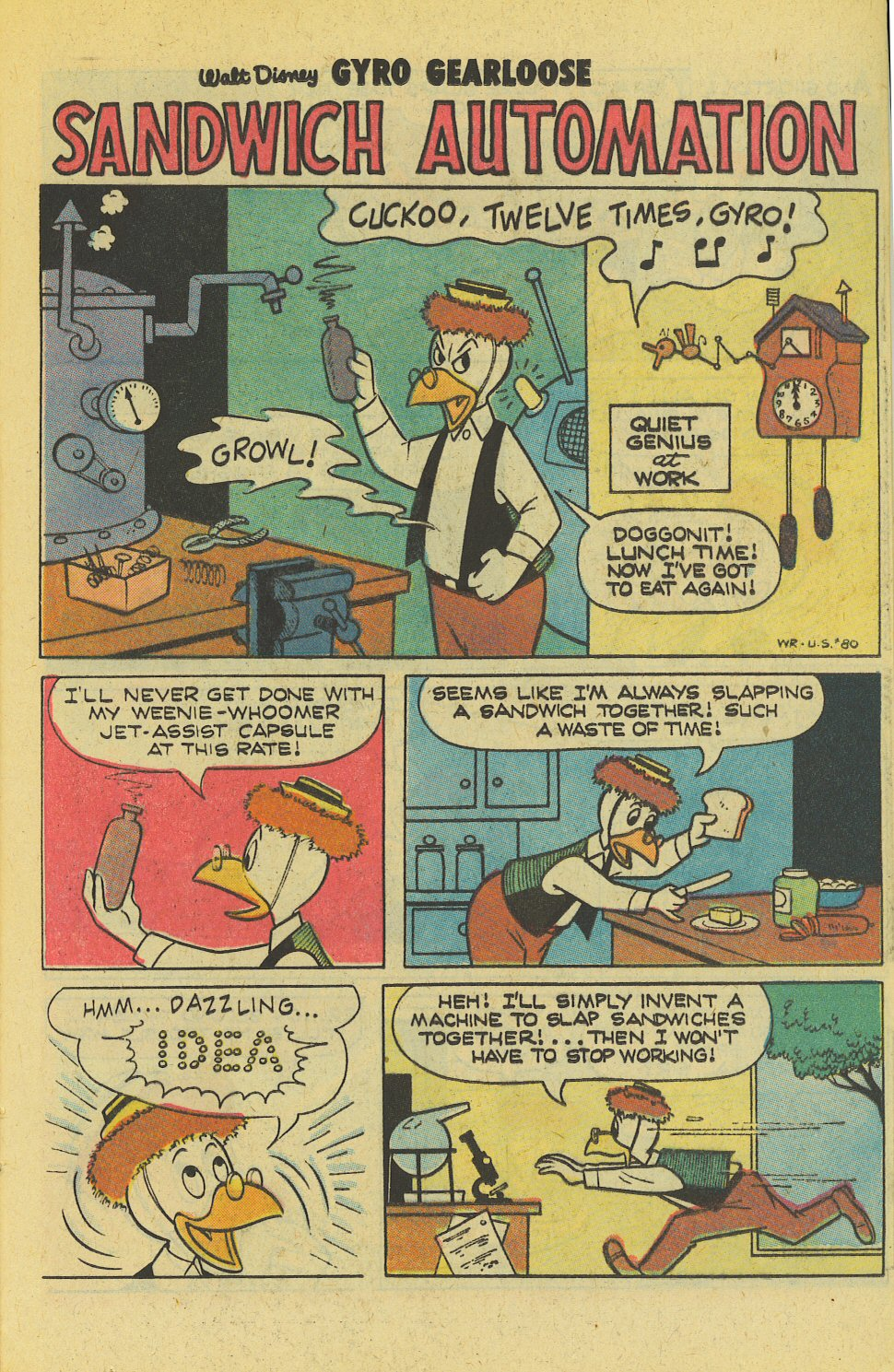 Read online Uncle Scrooge (1953) comic -  Issue #163 - 21