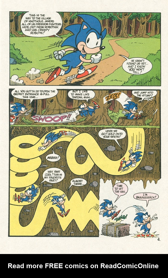 Read online Sonic Super Special comic -  Issue #3 - Sonic Firsts - 6