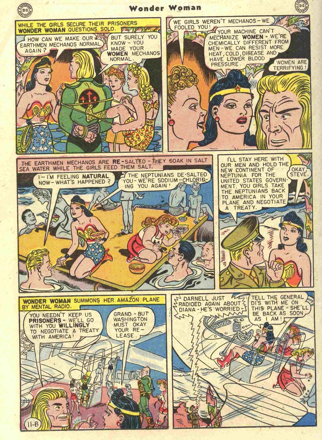 Read online Wonder Woman (1942) comic -  Issue #15 - 30