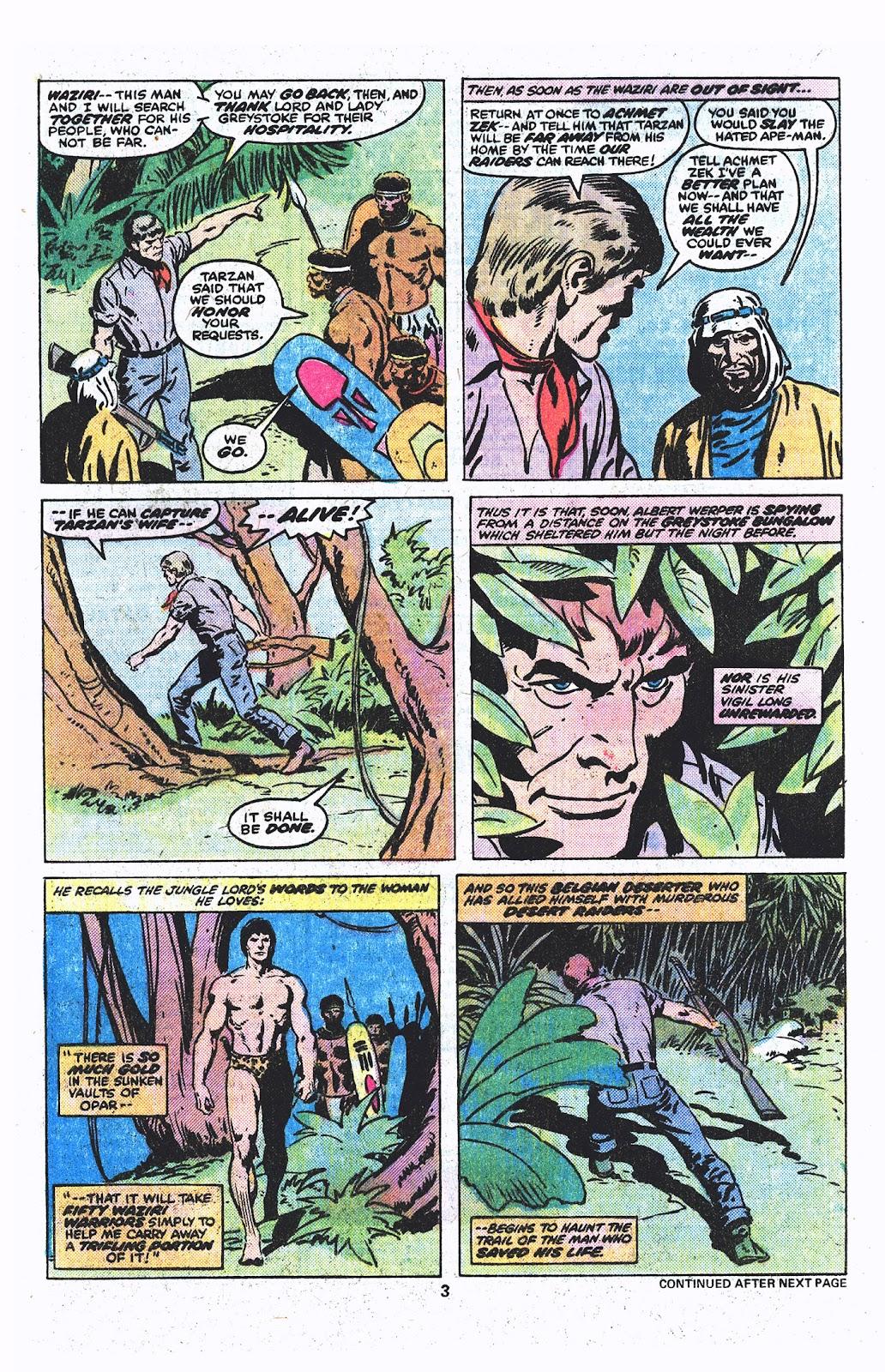 Tarzan (1977) issue 3 - Page 4