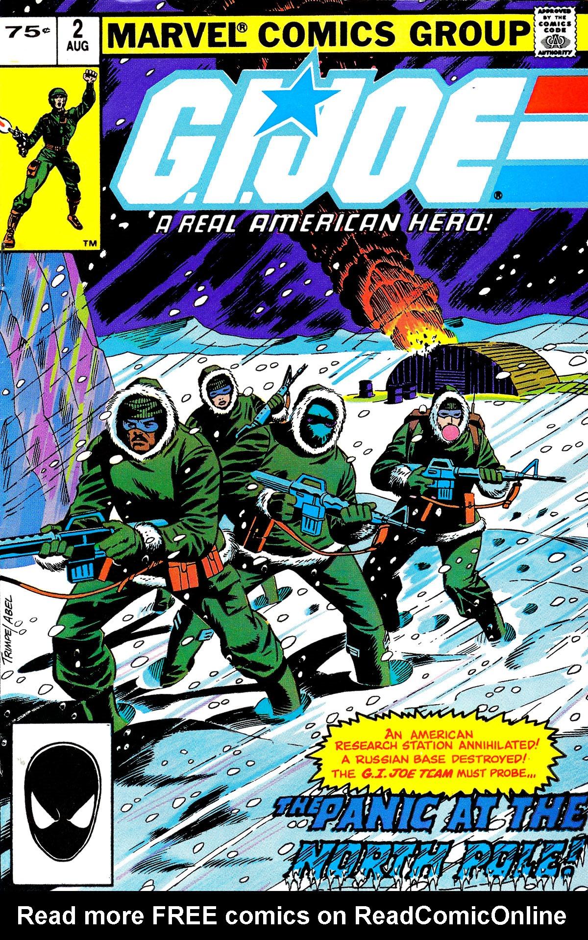 G.I. Joe: A Real American Hero 2 Page 1