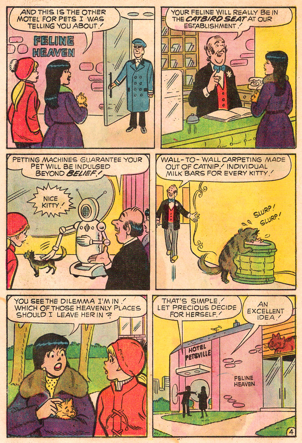 Read online Archie's Girls Betty and Veronica comic -  Issue #245 - 16