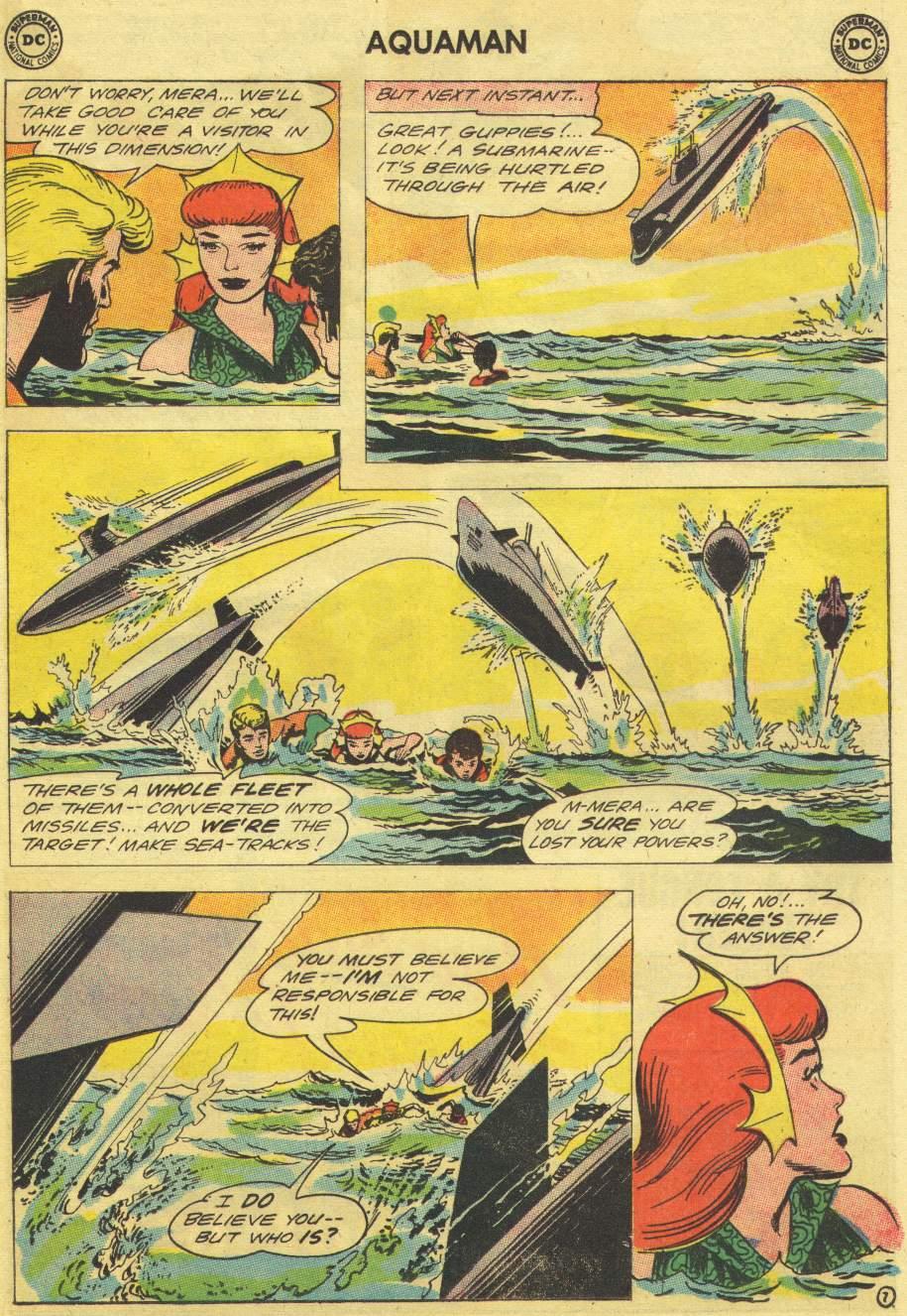 Read online Aquaman (1962) comic -  Issue #11 - 9