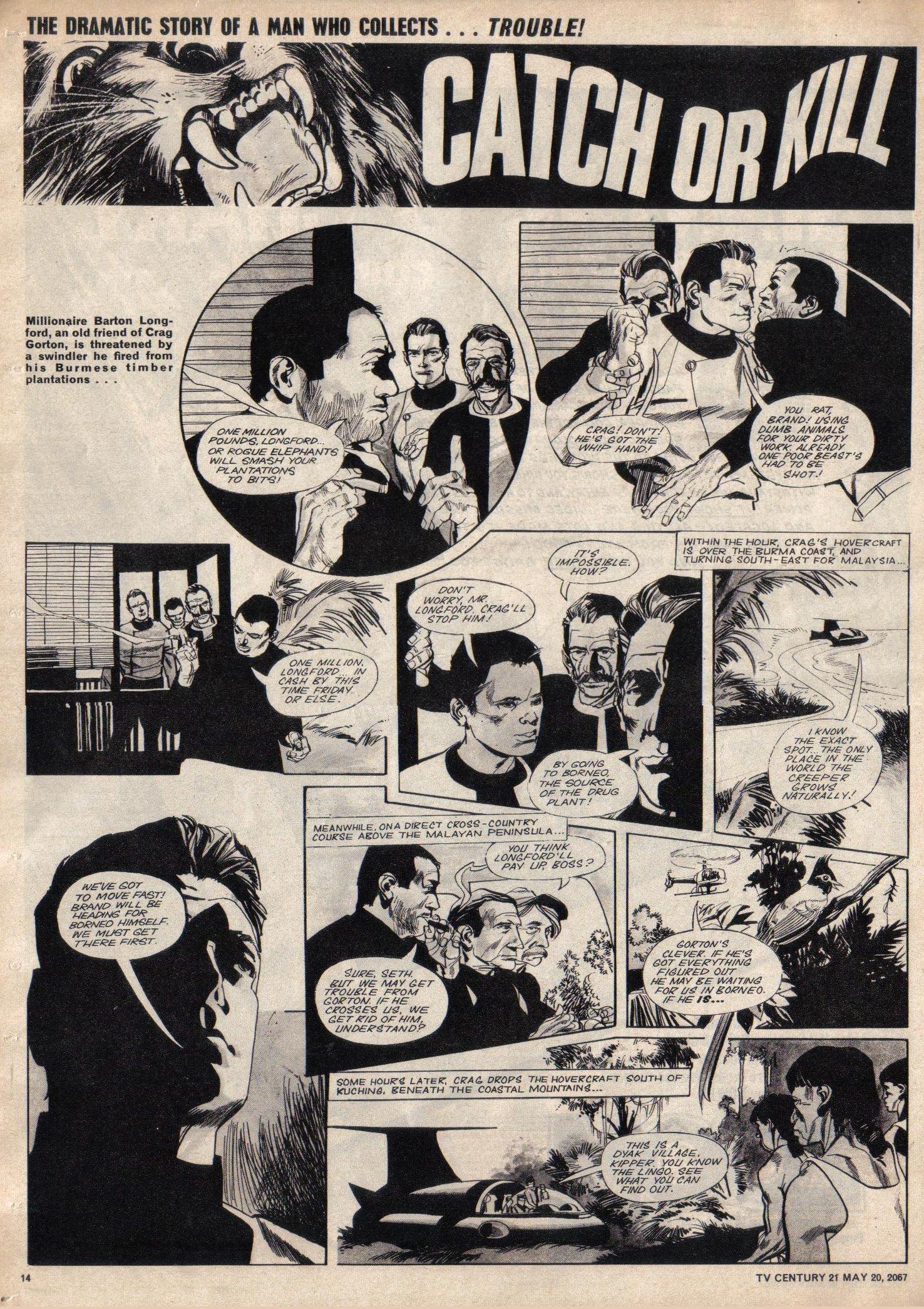 Read online TV Century 21 (TV 21) comic -  Issue #122 - 13