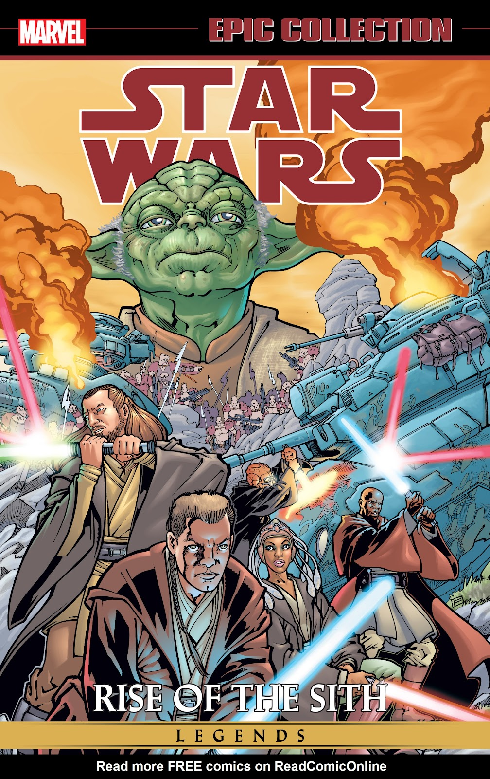 Read online Star Wars Legends: Rise of the Sith - Epic Collection comic -  Issue # TPB 1 (Part 1) - 1