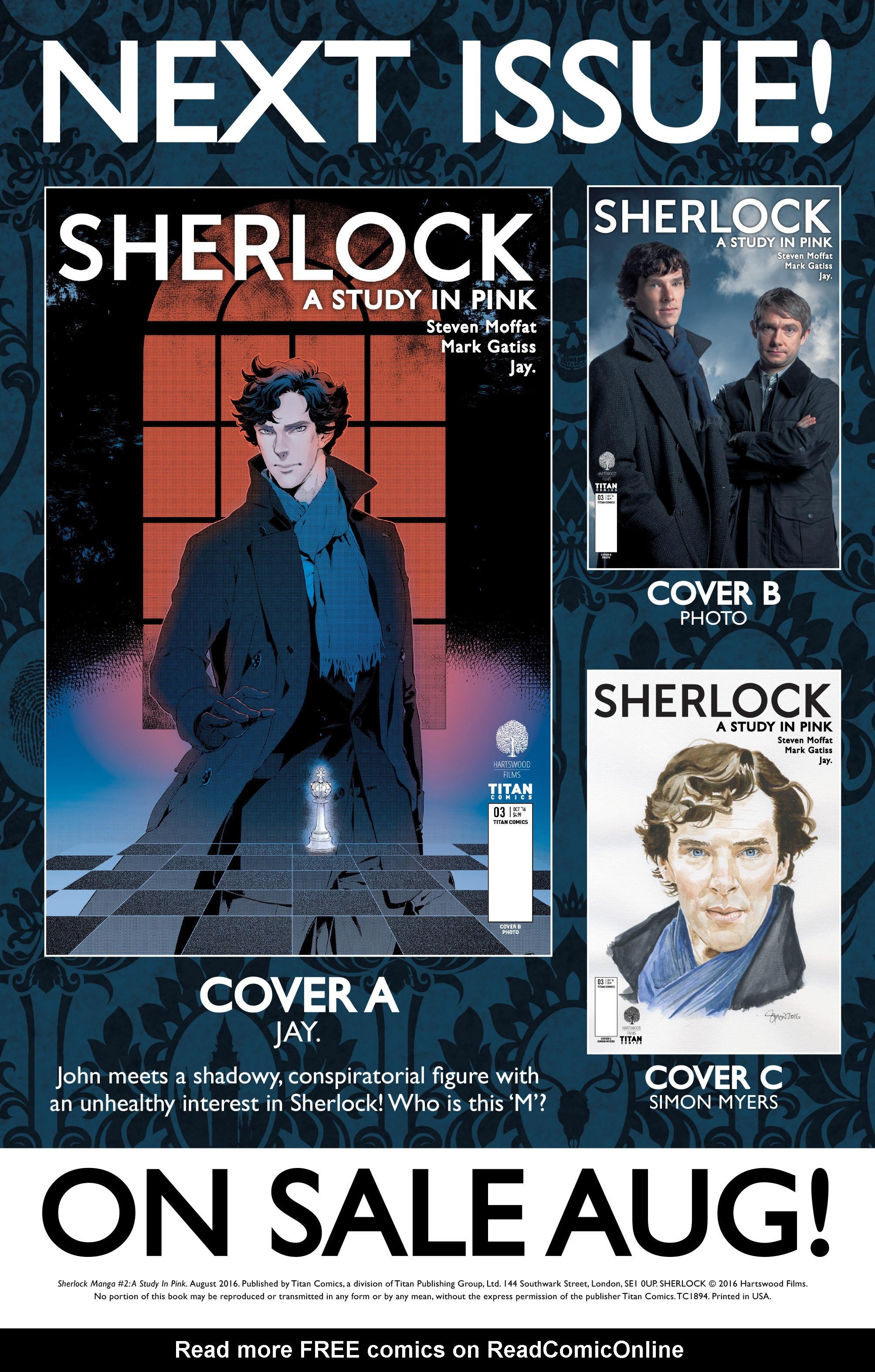 Read online Sherlock: A Study In Pink comic -  Issue #2 - 34