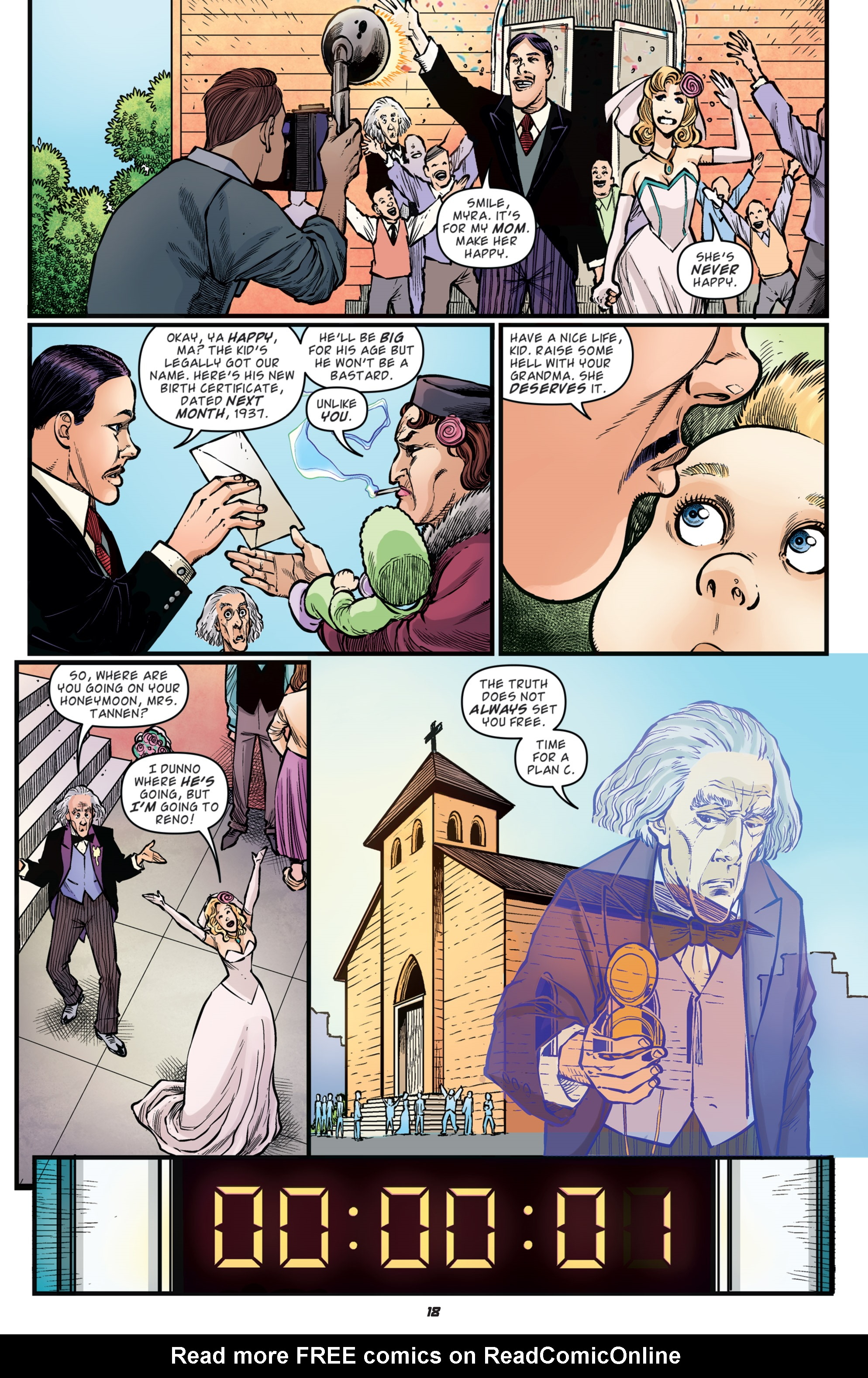 Read online Back to the Future: Biff to the Future comic -  Issue #5 - 20