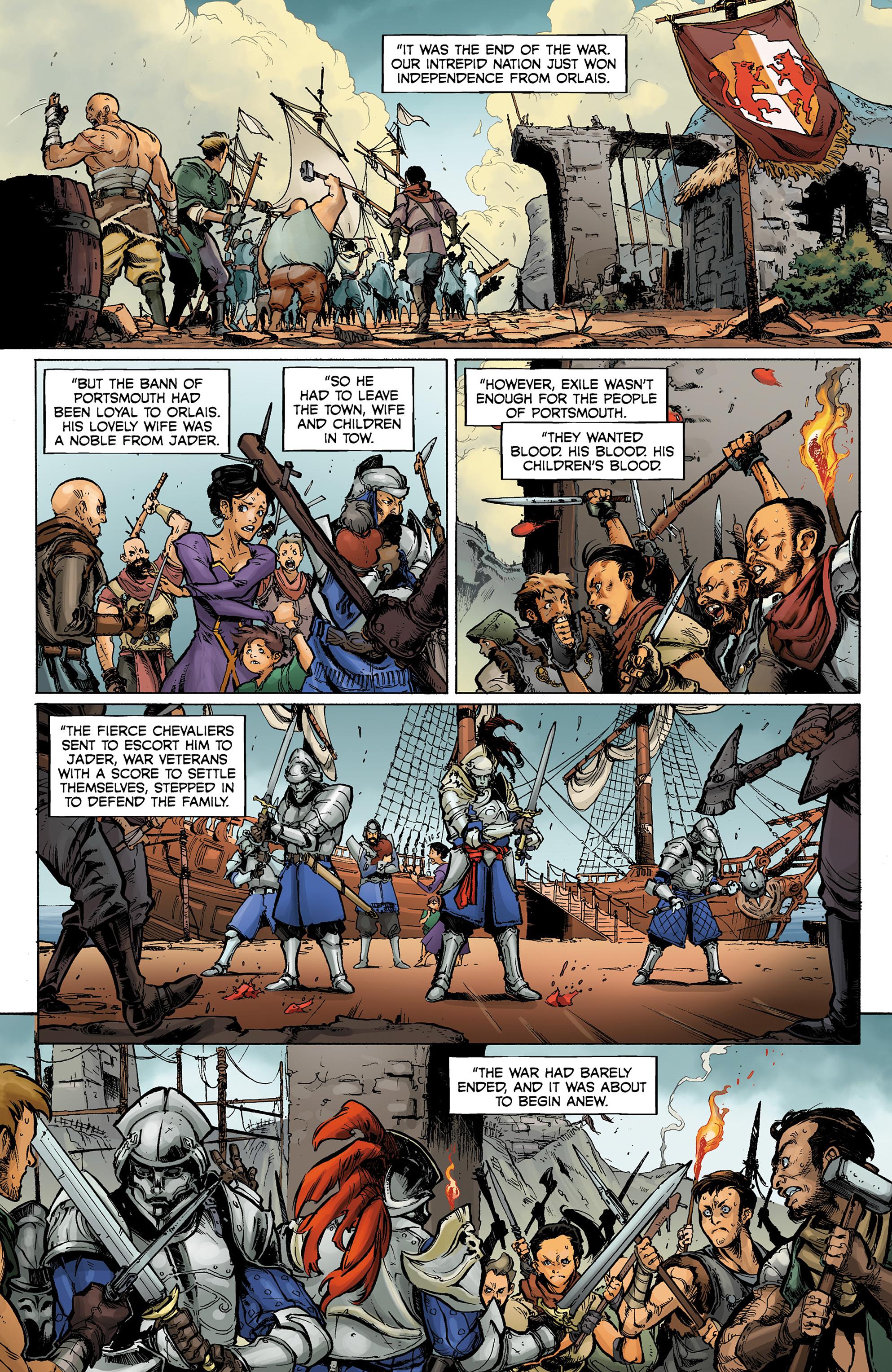 Read online Dragon Age: Knight Errant comic -  Issue #1 - 3