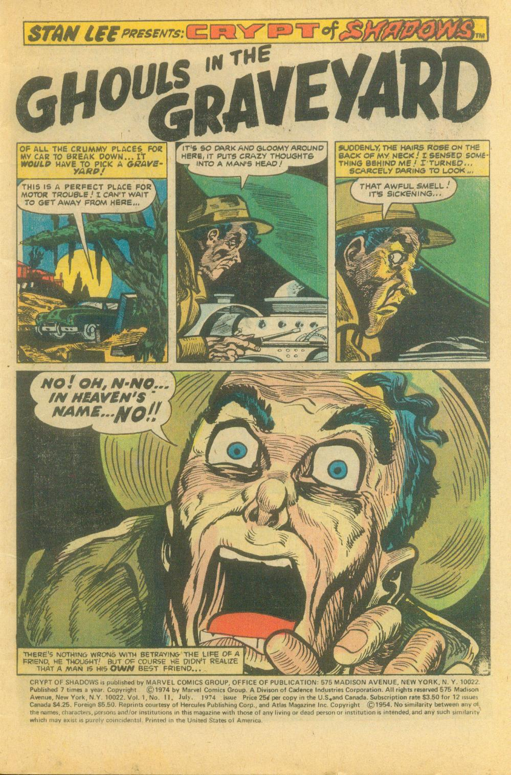 Crypt of Shadows (1973) issue 11 - Page 3