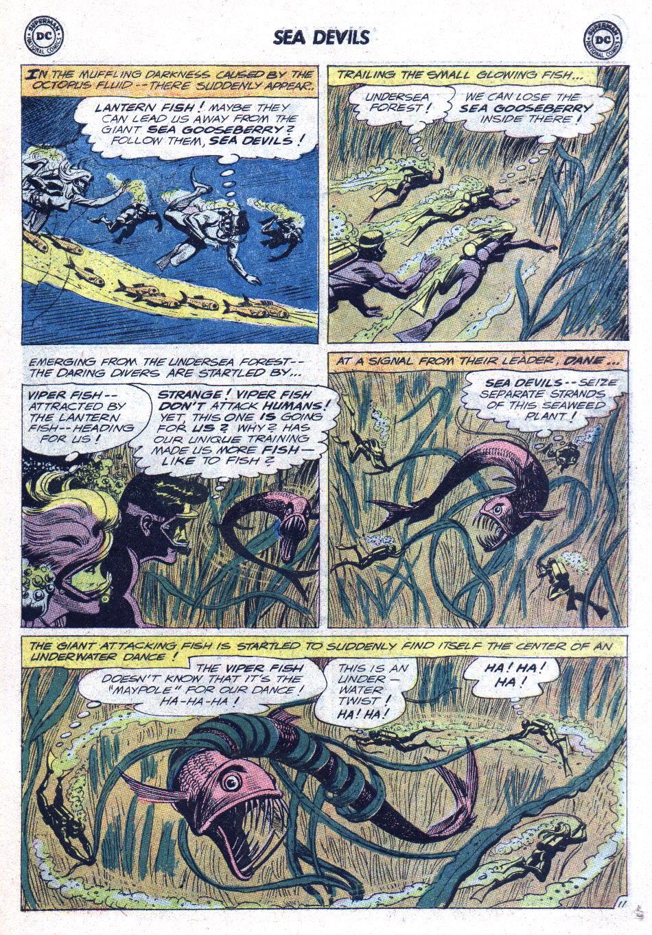 Read online Sea Devils comic -  Issue #15 - 15