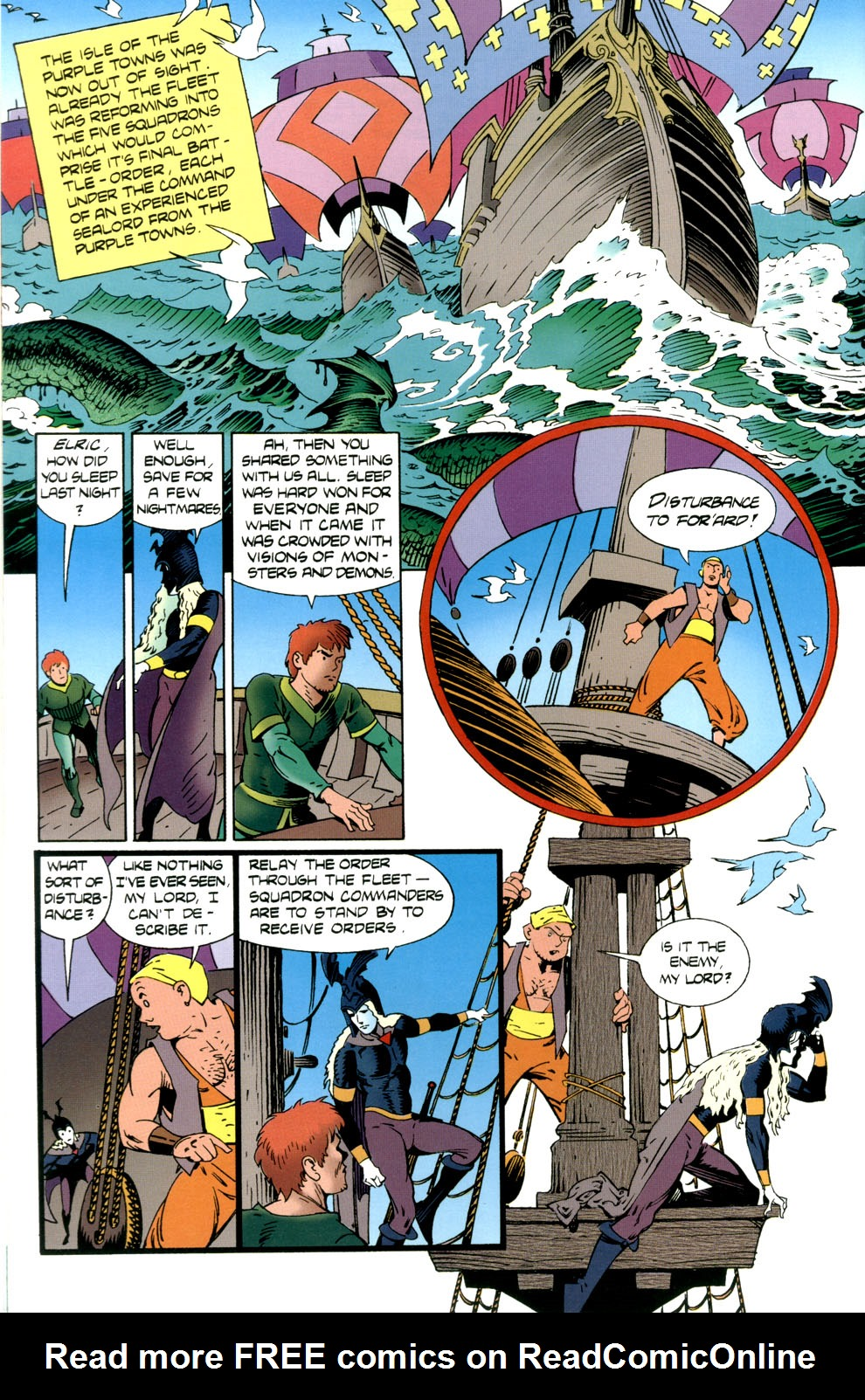 Read online Elric: Stormbringer comic -  Issue #4 - 22