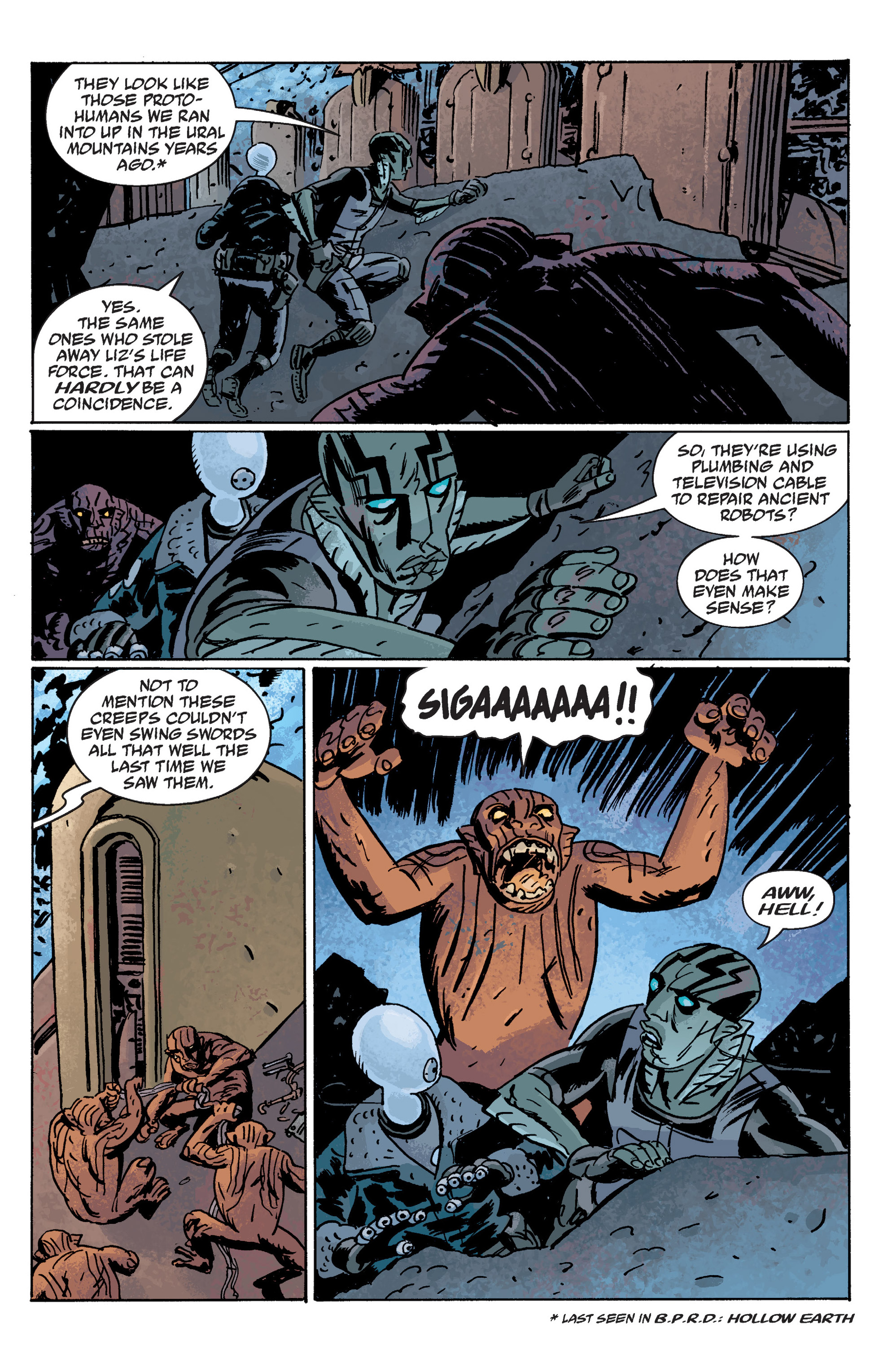 Read online B.P.R.D. (2003) comic -  Issue # TPB 10 - 82