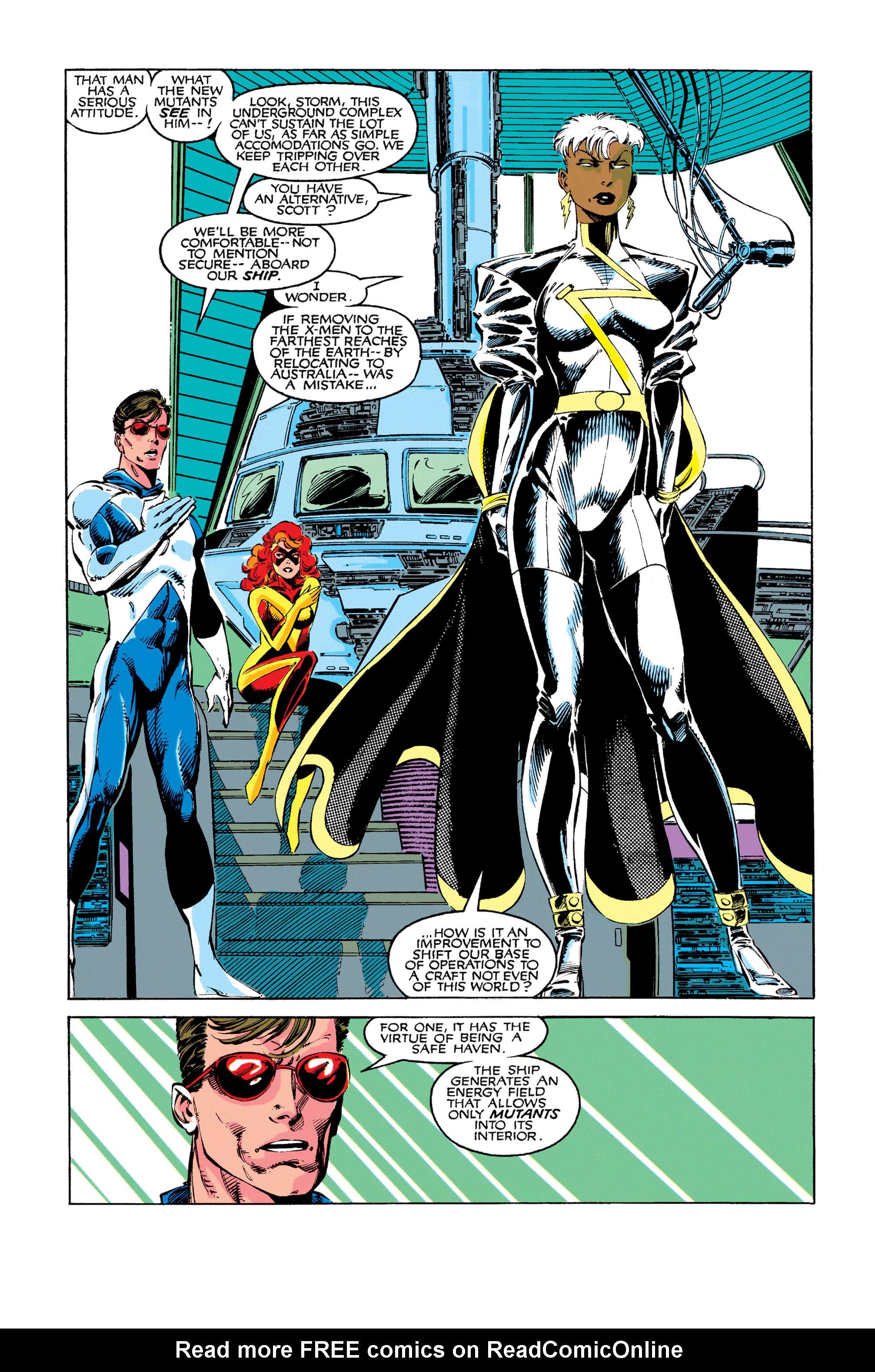 Read online Uncanny X-Men (1963) comic -  Issue #273 - 7