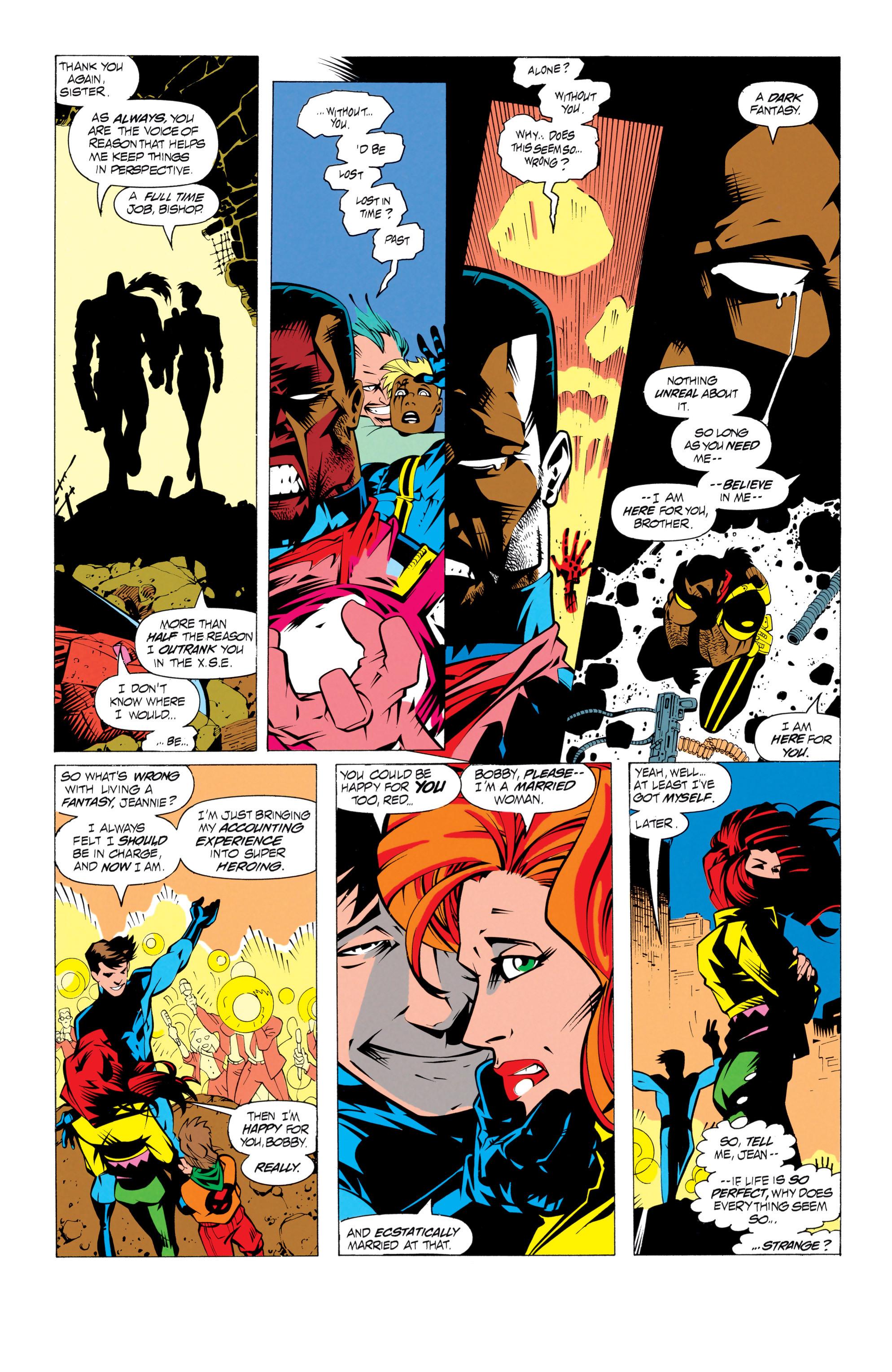 Read online Uncanny X-Men (1963) comic -  Issue # _Annual 17 - 14