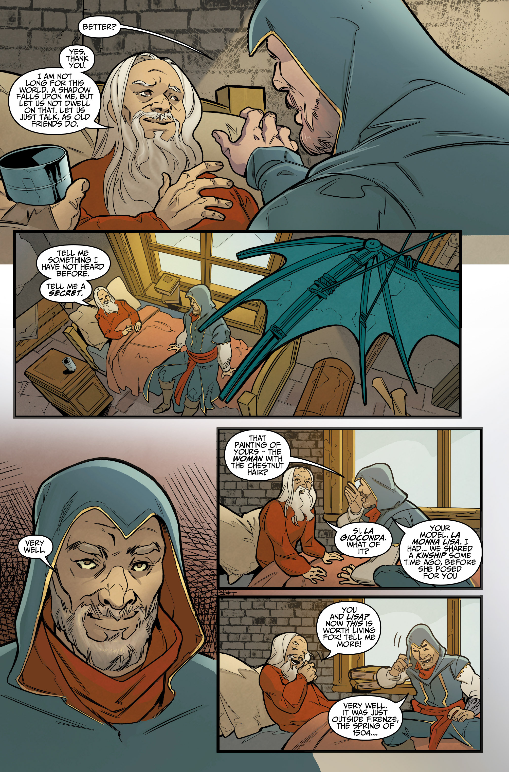 Read online Assassin's Creed: Reflections comic -  Issue #1 - 8