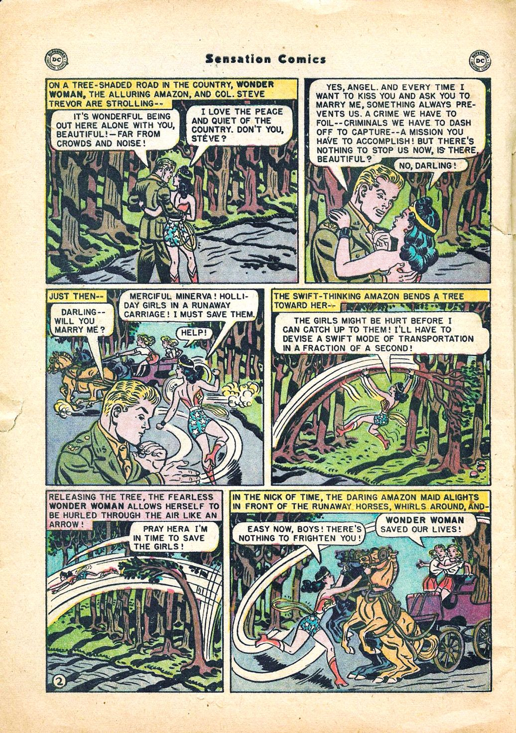 Read online Sensation (Mystery) Comics comic -  Issue #95 - 4