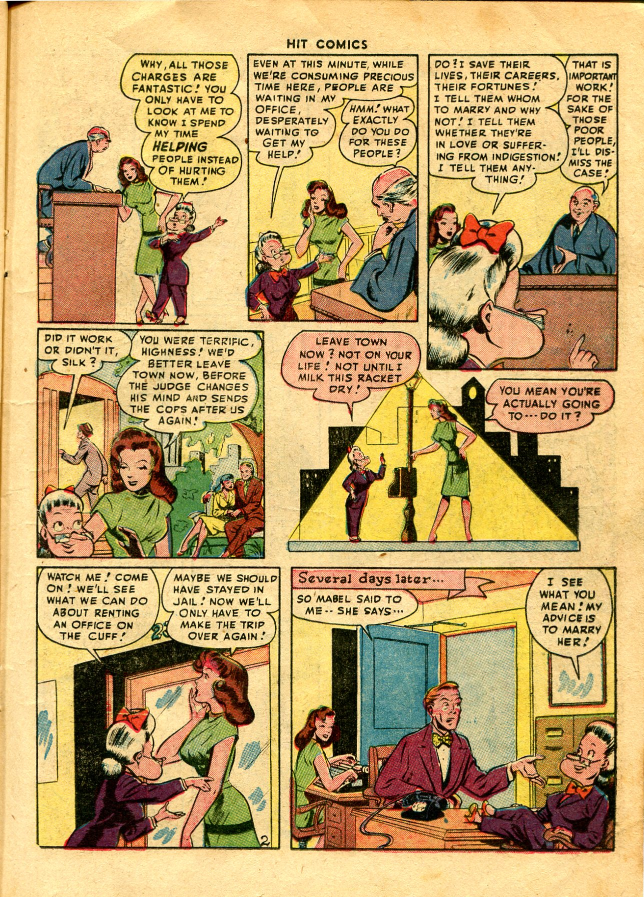 Read online Hit Comics comic -  Issue #48 - 17