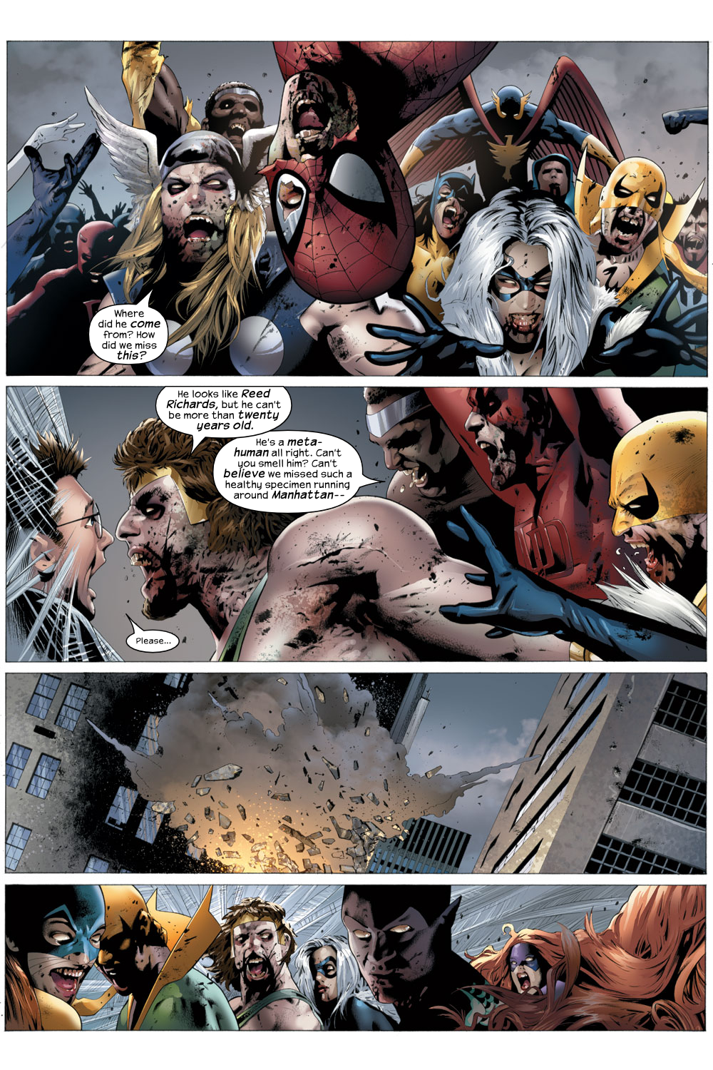 Read online Ultimate Fantastic Four (2004) comic -  Issue #22 - 10