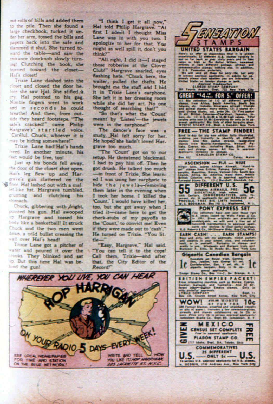 Read online Sensation (Mystery) Comics comic -  Issue #19 - 41
