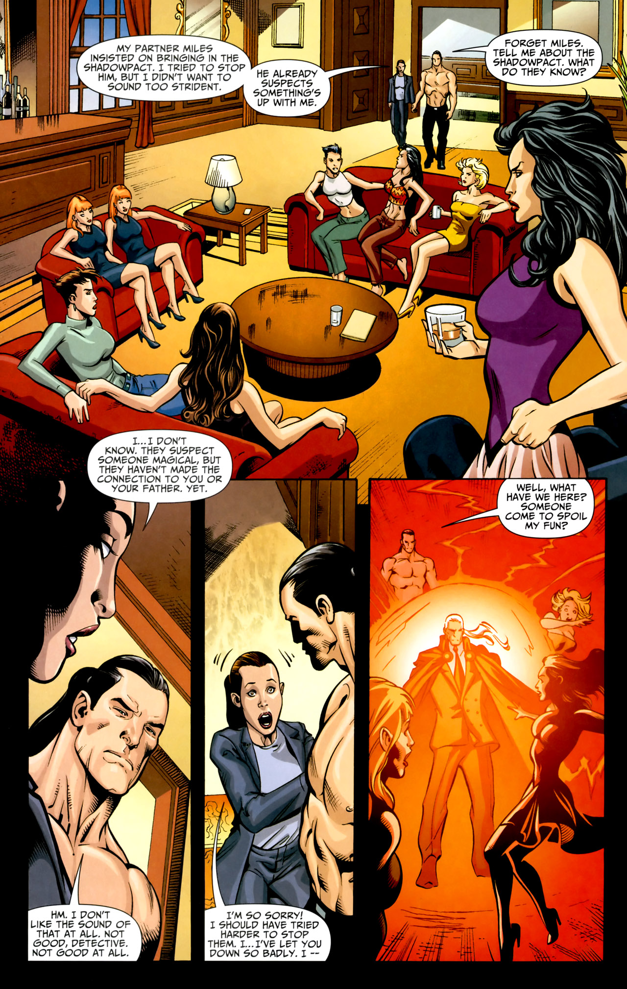 Read online Shadowpact comic -  Issue #18 - 20