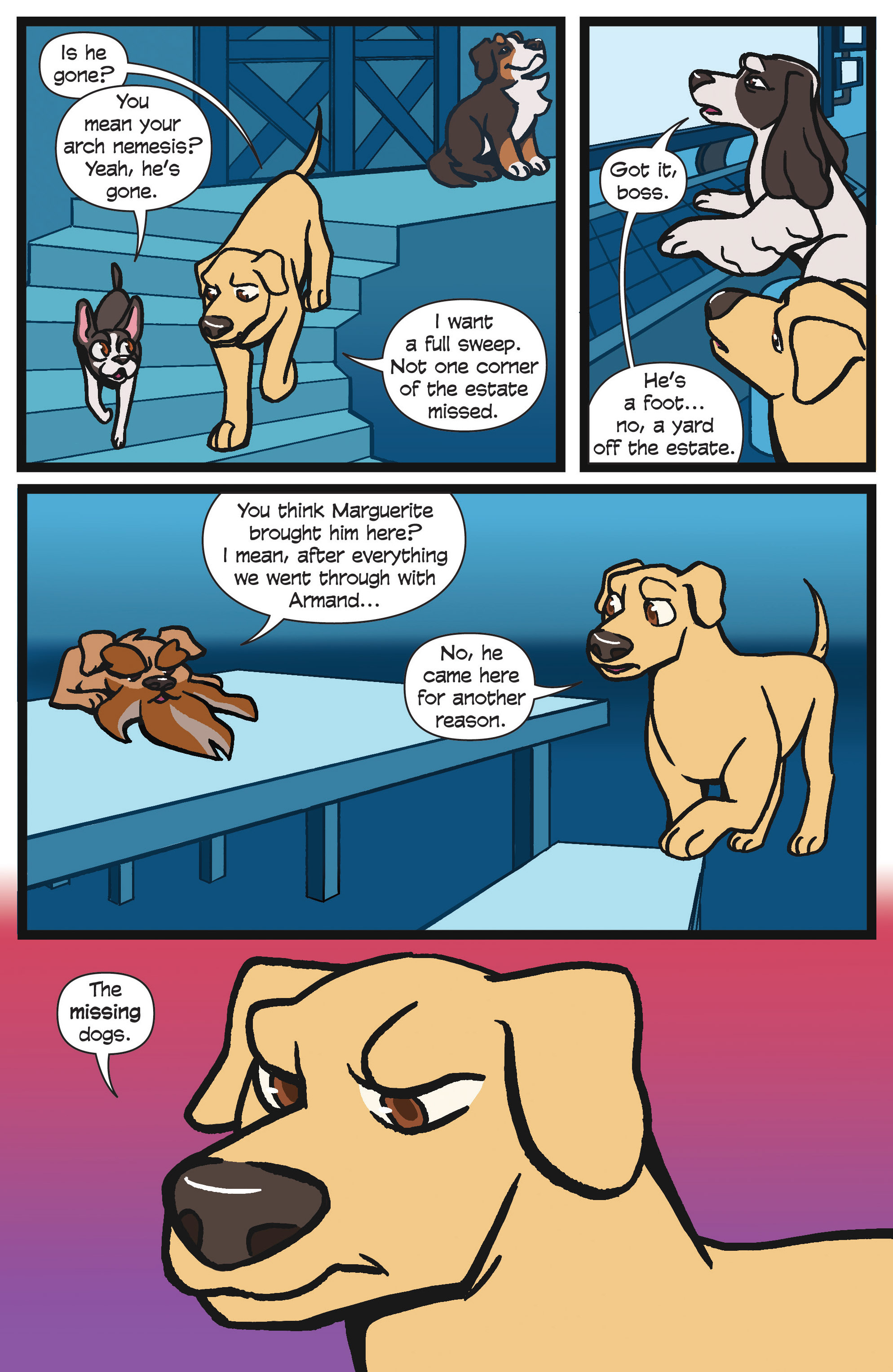Read online Action Lab, Dog of Wonder comic -  Issue #4 - 9
