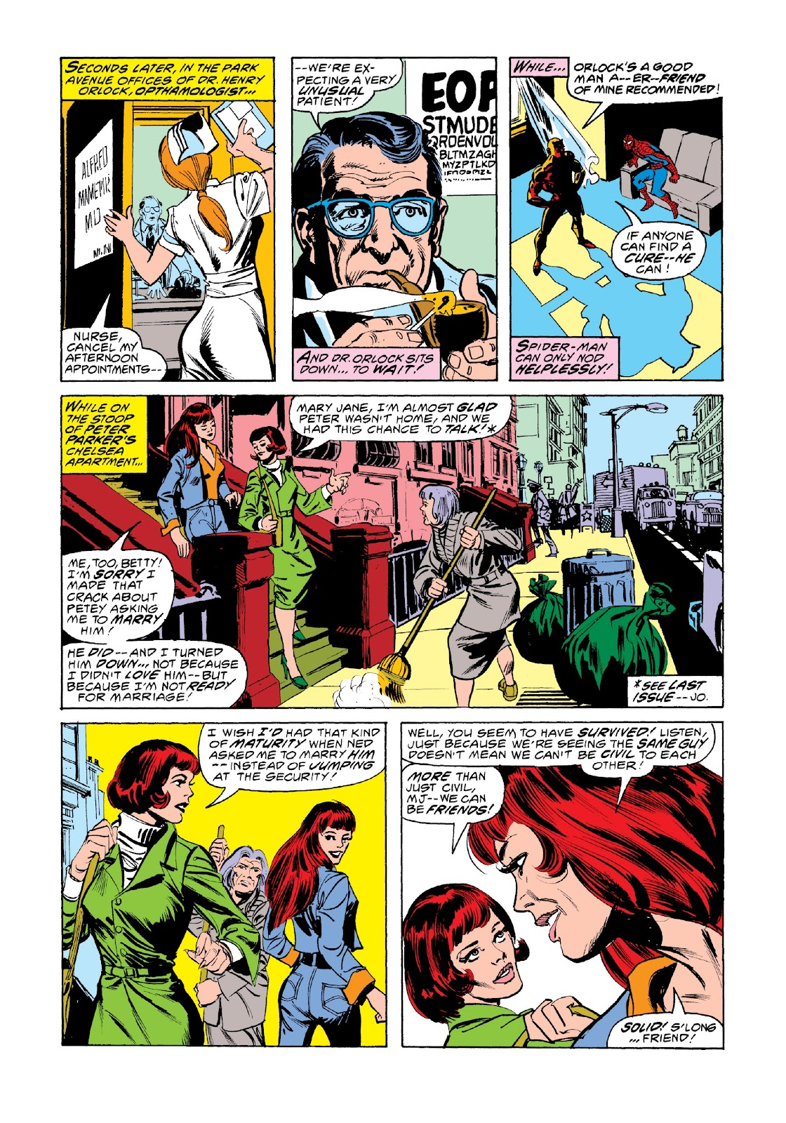 Read online Marvel Masterworks: The Spectacular Spider-Man comic -  Issue # TPB 2 (Part 3) - 14
