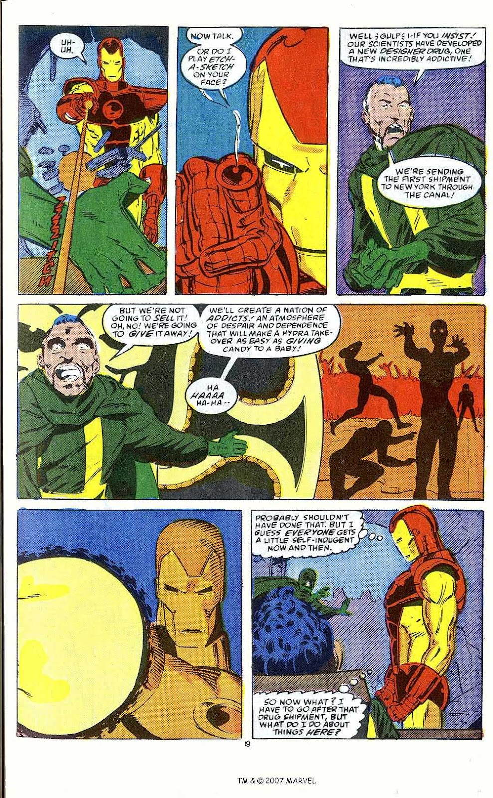 Iron Man Annual issue 10 - Page 21