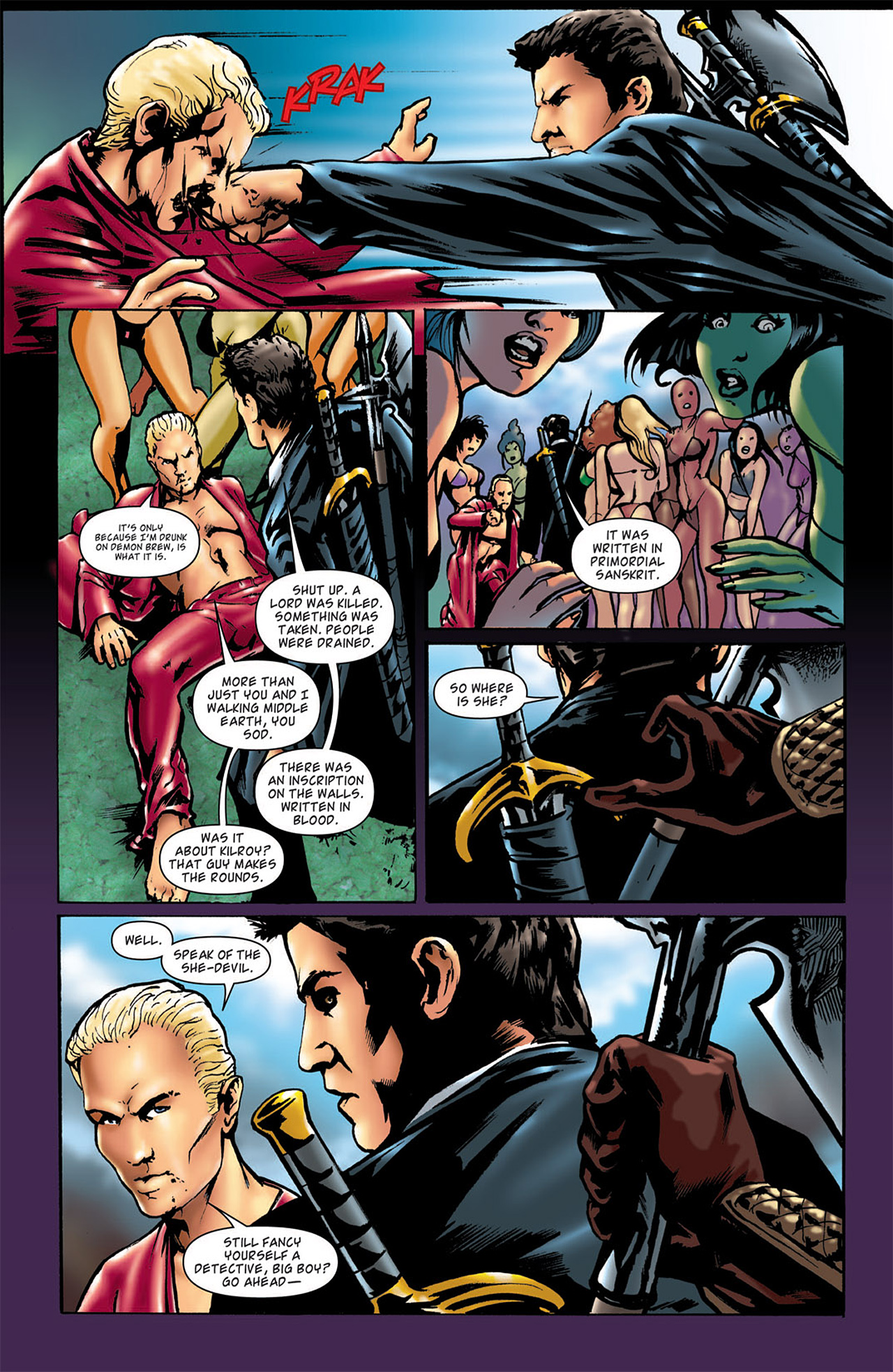 Read online Angel: After The Fall comic -  Issue #2 - 24