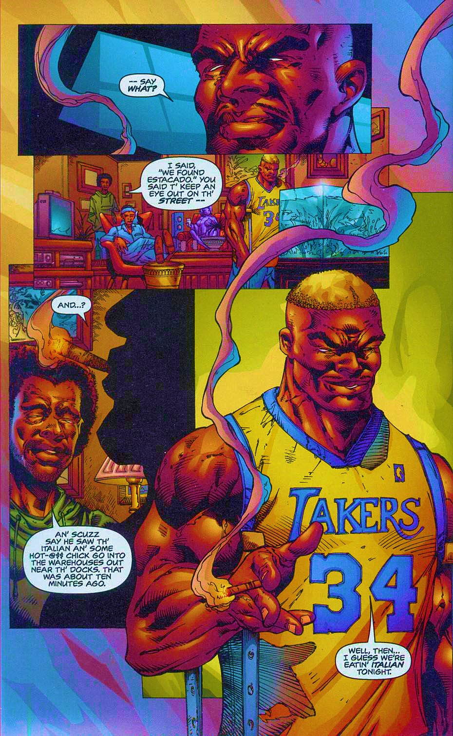 Read online Overkill: Witchblade/Aliens/Darkness/Predator comic -  Issue #2 - 13