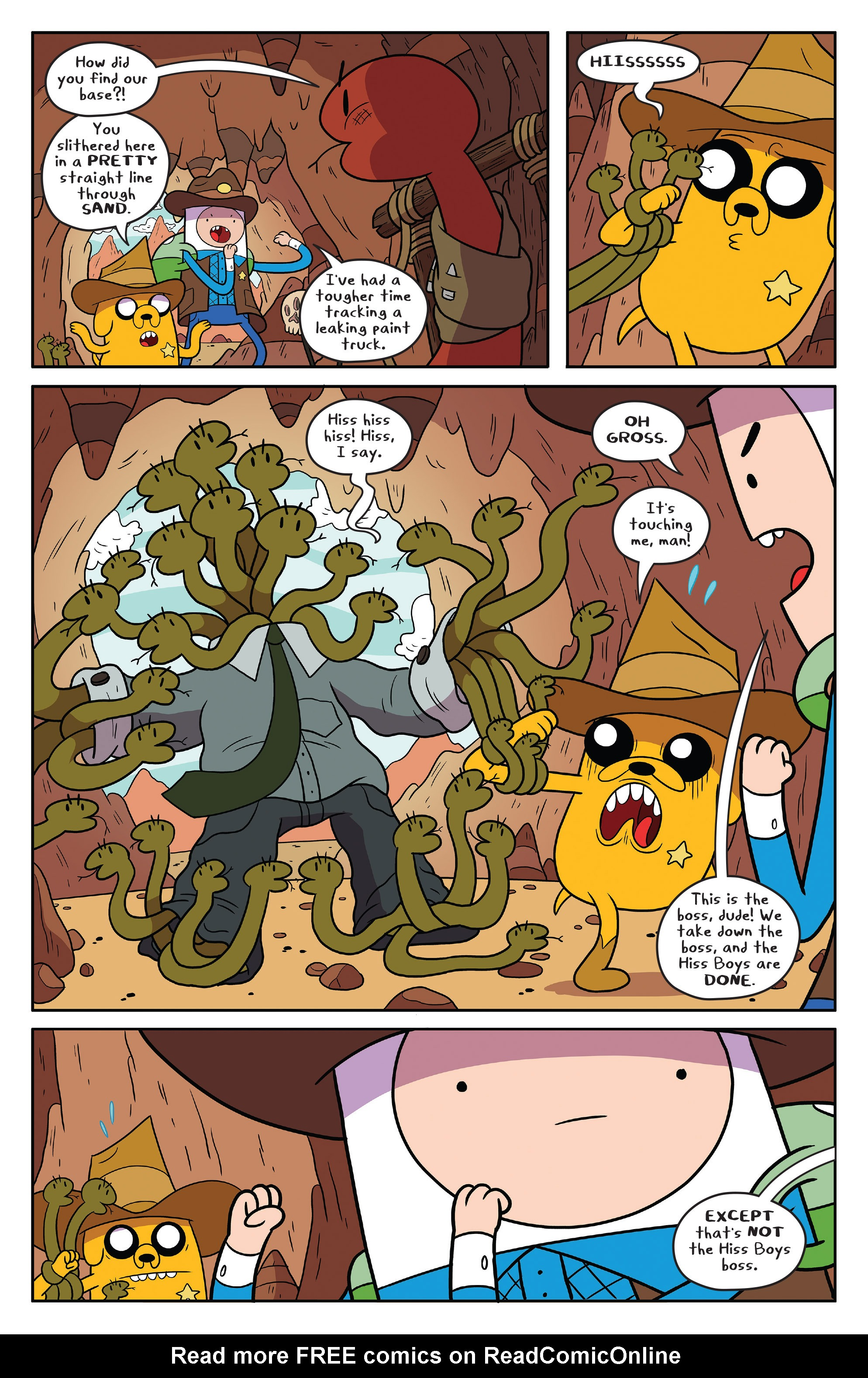Read online Adventure Time comic -  Issue #54 - 16