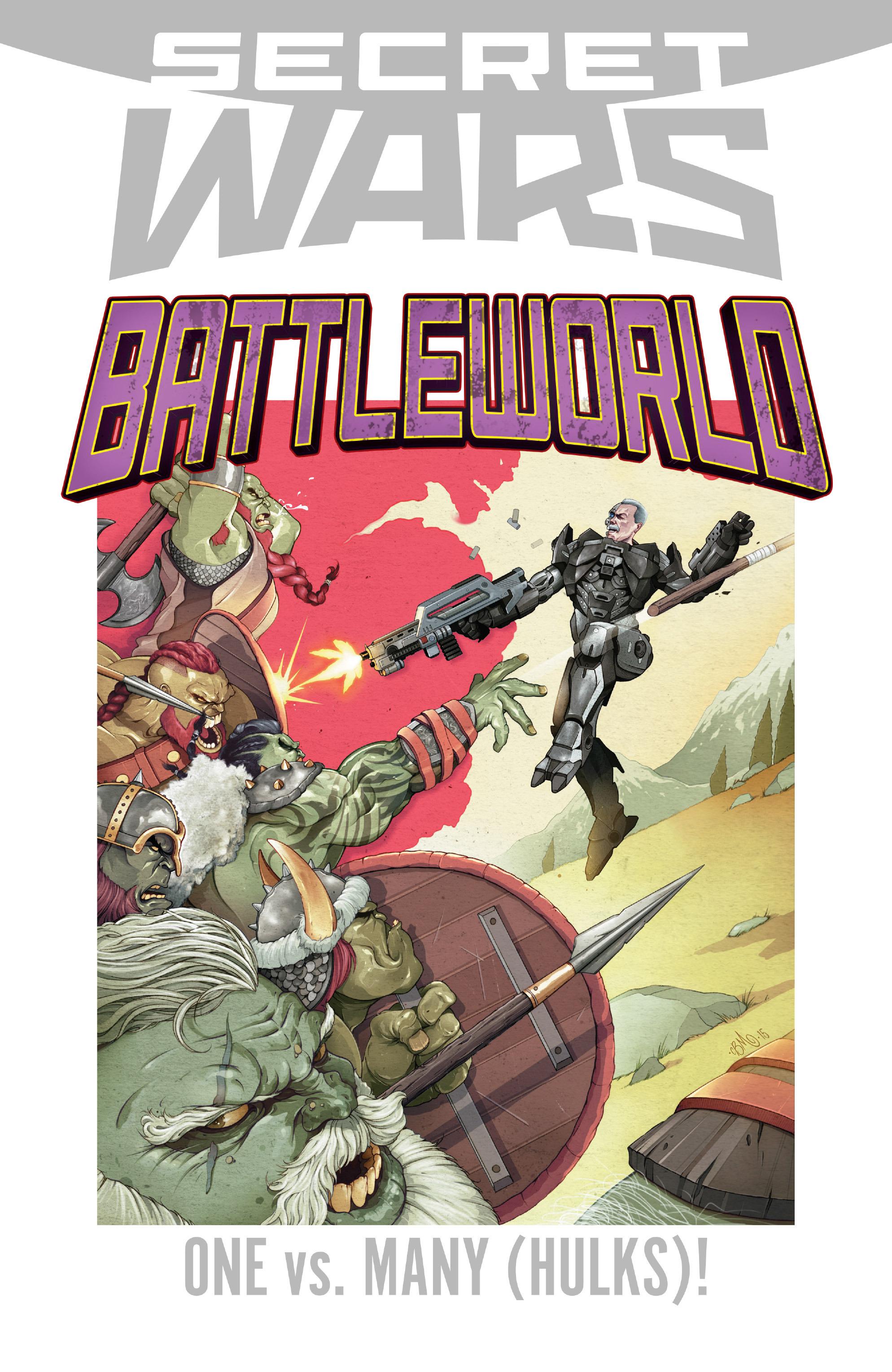 Read online Secret Wars: Battleworld comic -  Issue #1 - 22