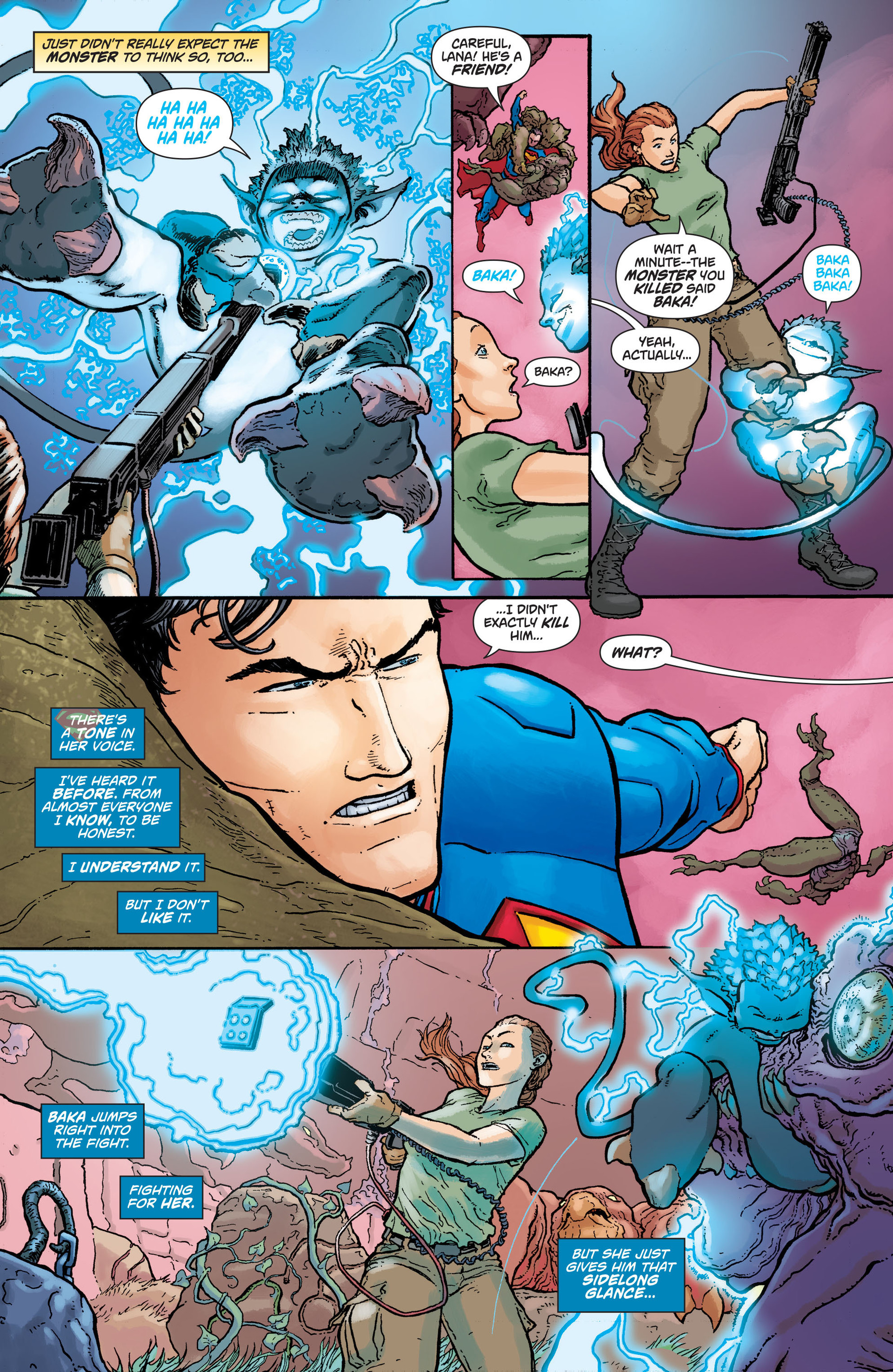 Read online Action Comics (2011) comic -  Issue #27 - 14