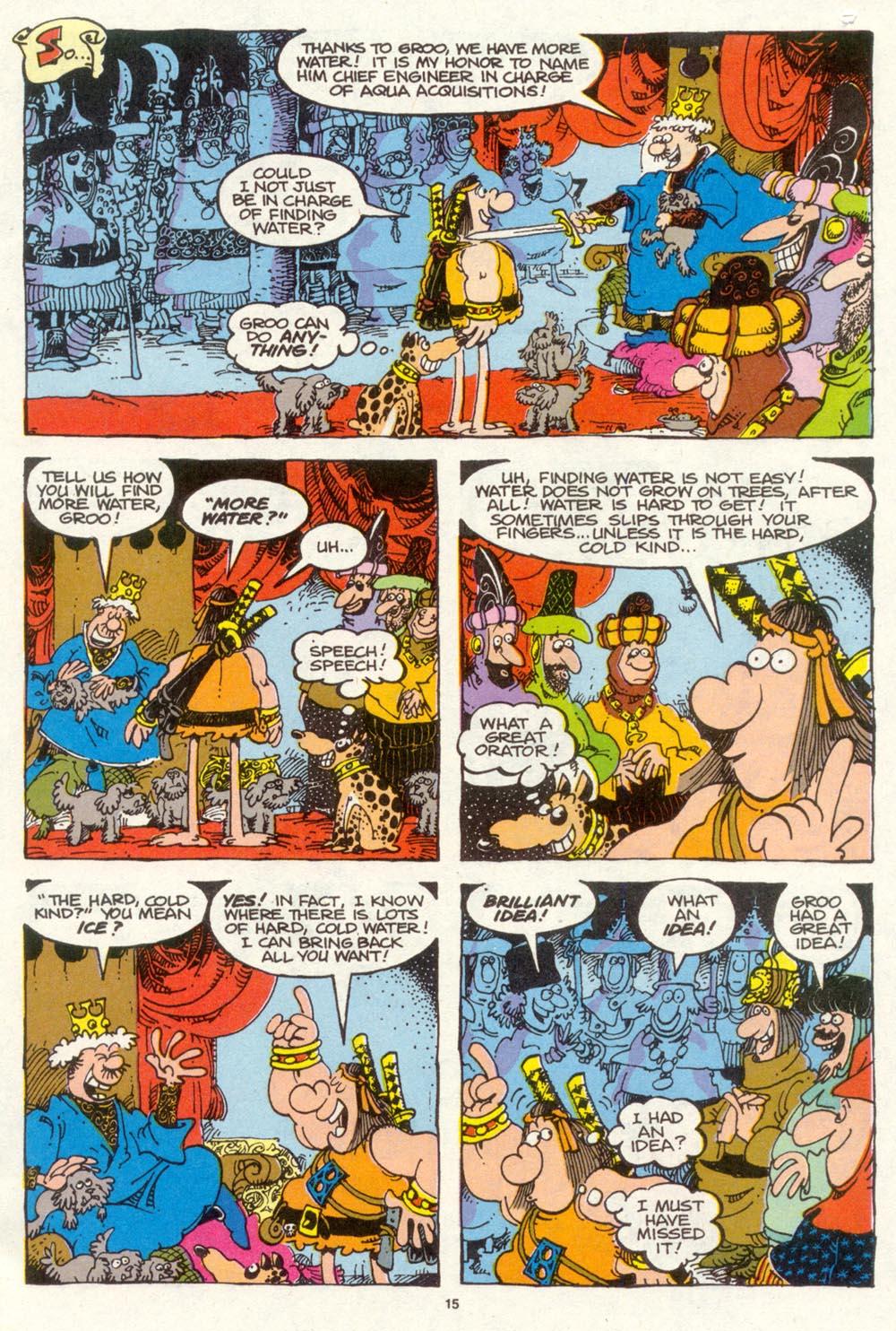 Read online Sergio Aragonés Groo the Wanderer comic -  Issue #94 - 16