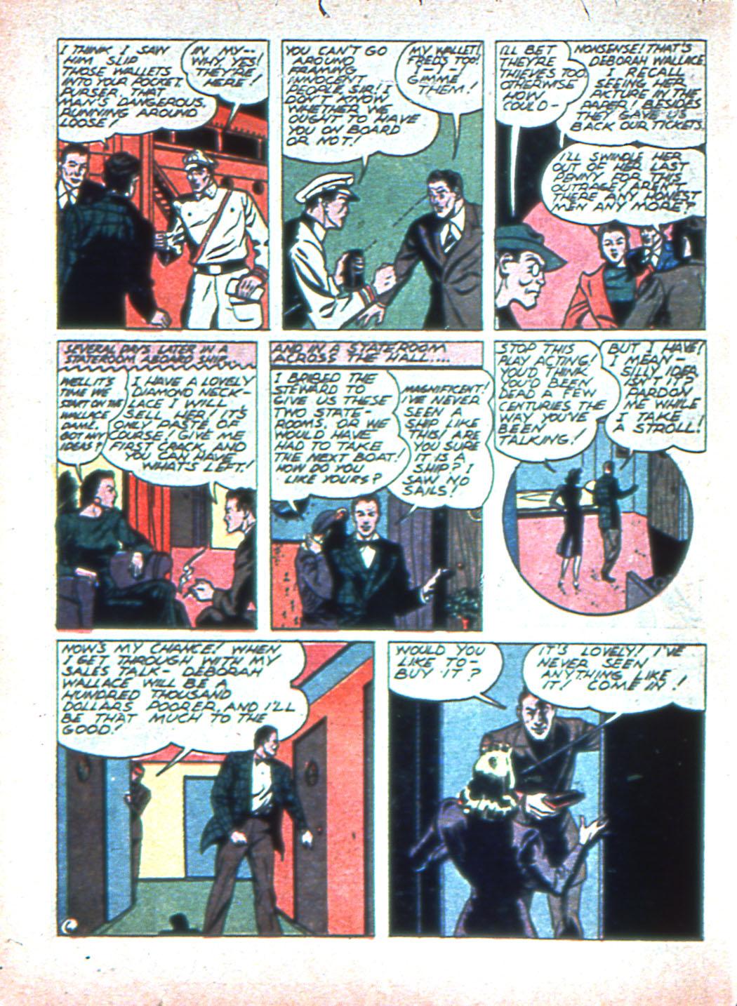 Read online Sensation (Mystery) Comics comic -  Issue #2 - 38