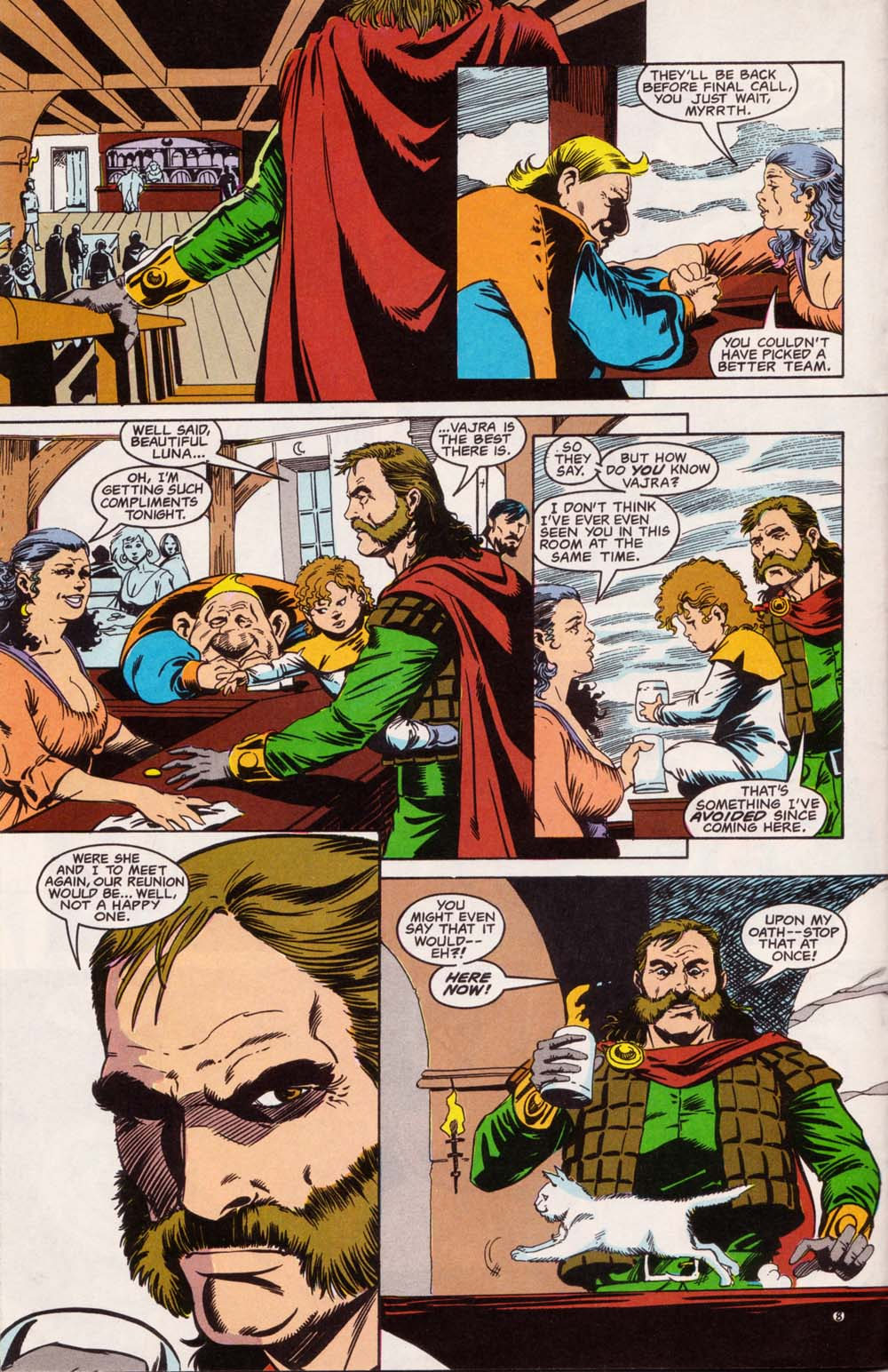 Read online Advanced Dungeons & Dragons comic -  Issue #5 - 9