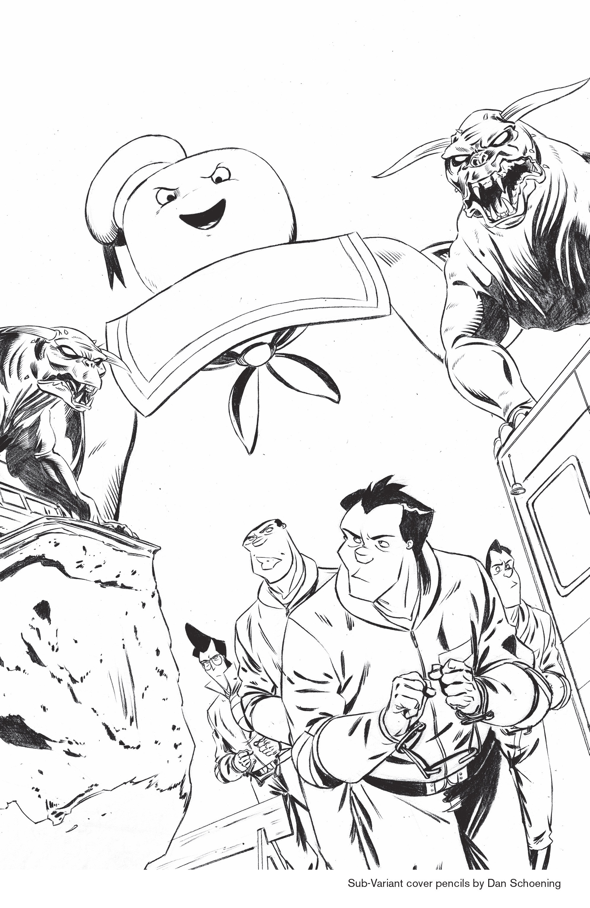 Read online Ghostbusters: Deviations comic -  Issue #1 - 32