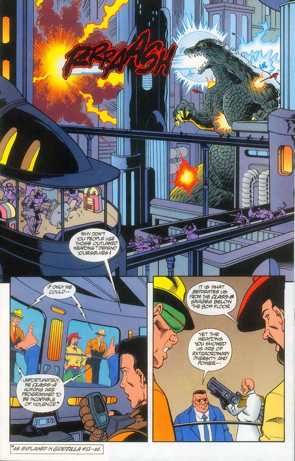 Godzilla (1995) Issue #12 #13 - English 17