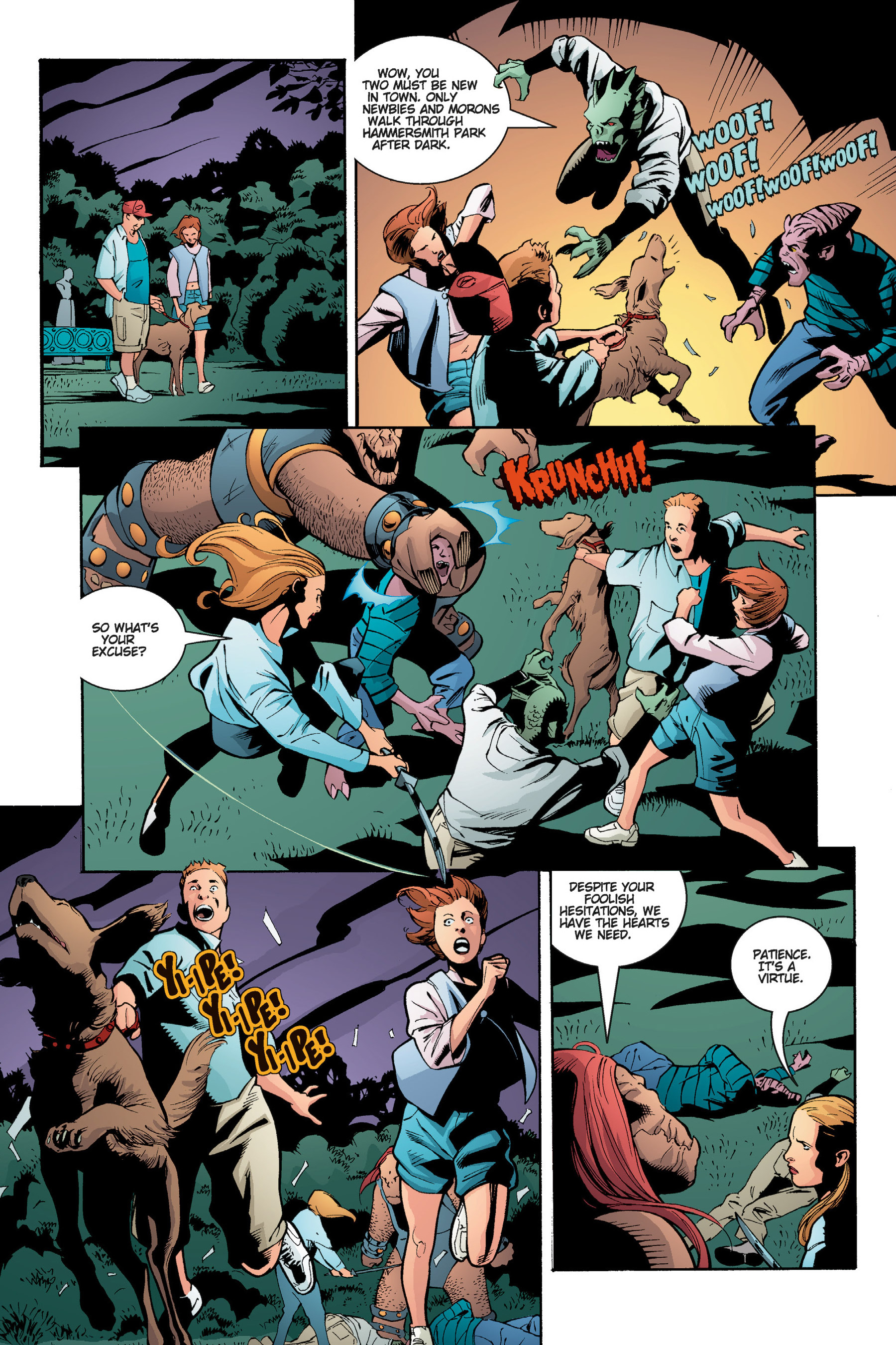 Read online Buffy the Vampire Slayer: Omnibus comic -  Issue # TPB 5 - 197