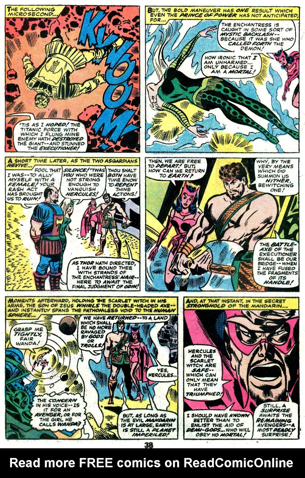 Giant-Size Avengers (1974) issue 5 - Page 30