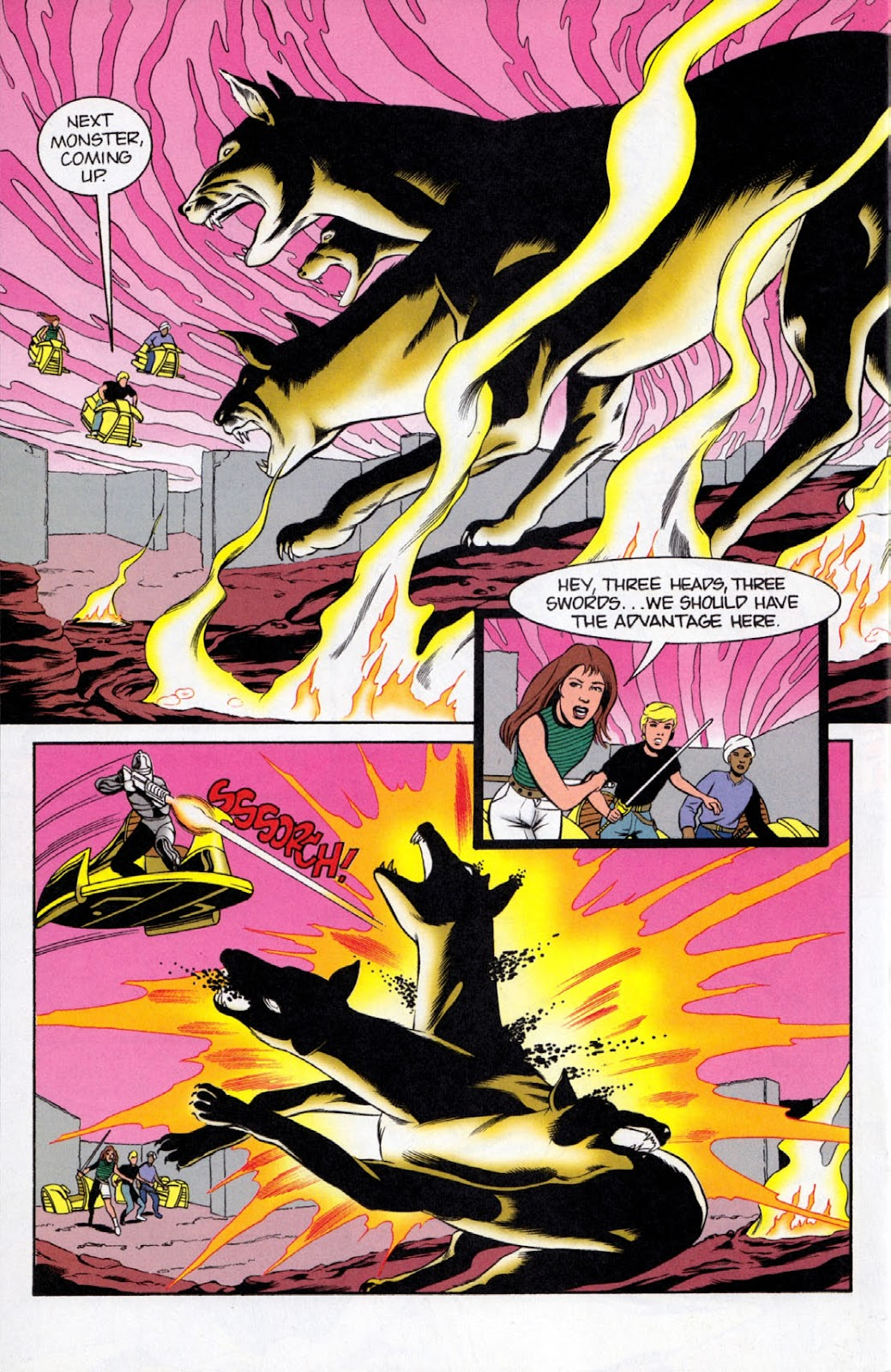 Read online The Real Adventures of Jonny Quest comic -  Issue #8 - 22