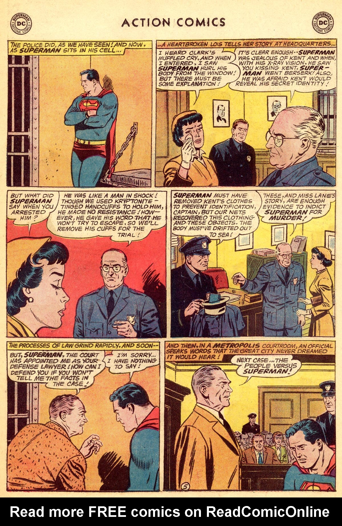 Read online Action Comics (1938) comic -  Issue #301 - 7