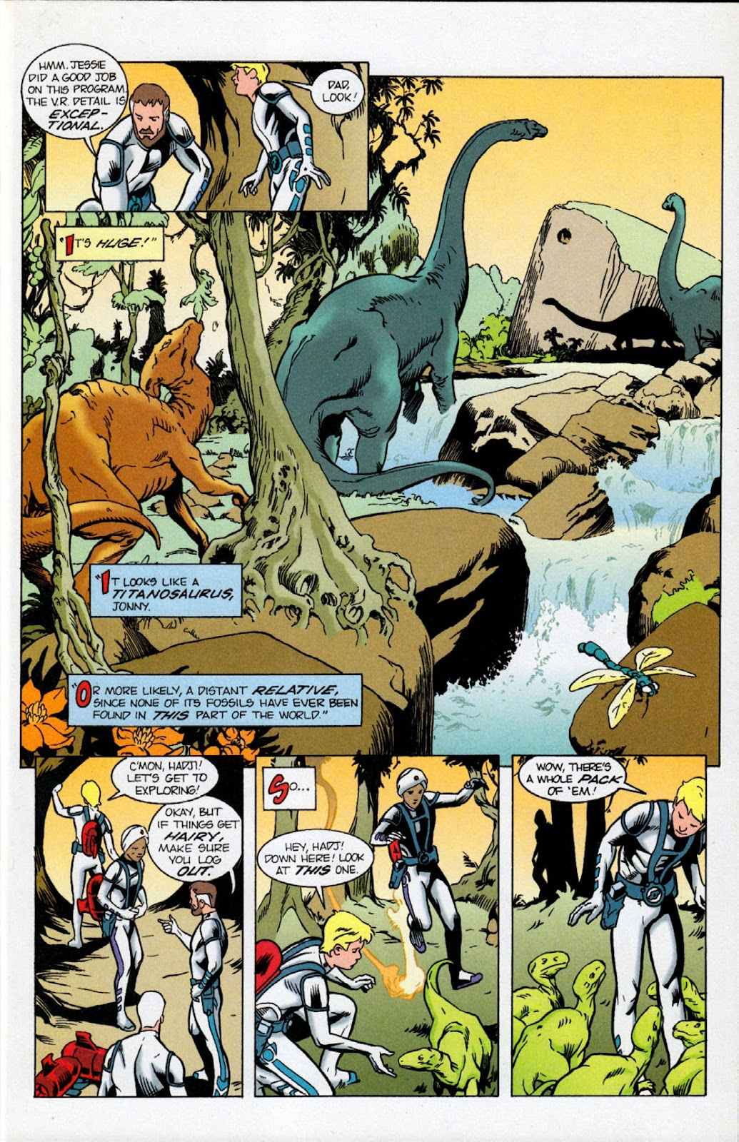 Read online The Real Adventures of Jonny Quest comic -  Issue #10 - 5